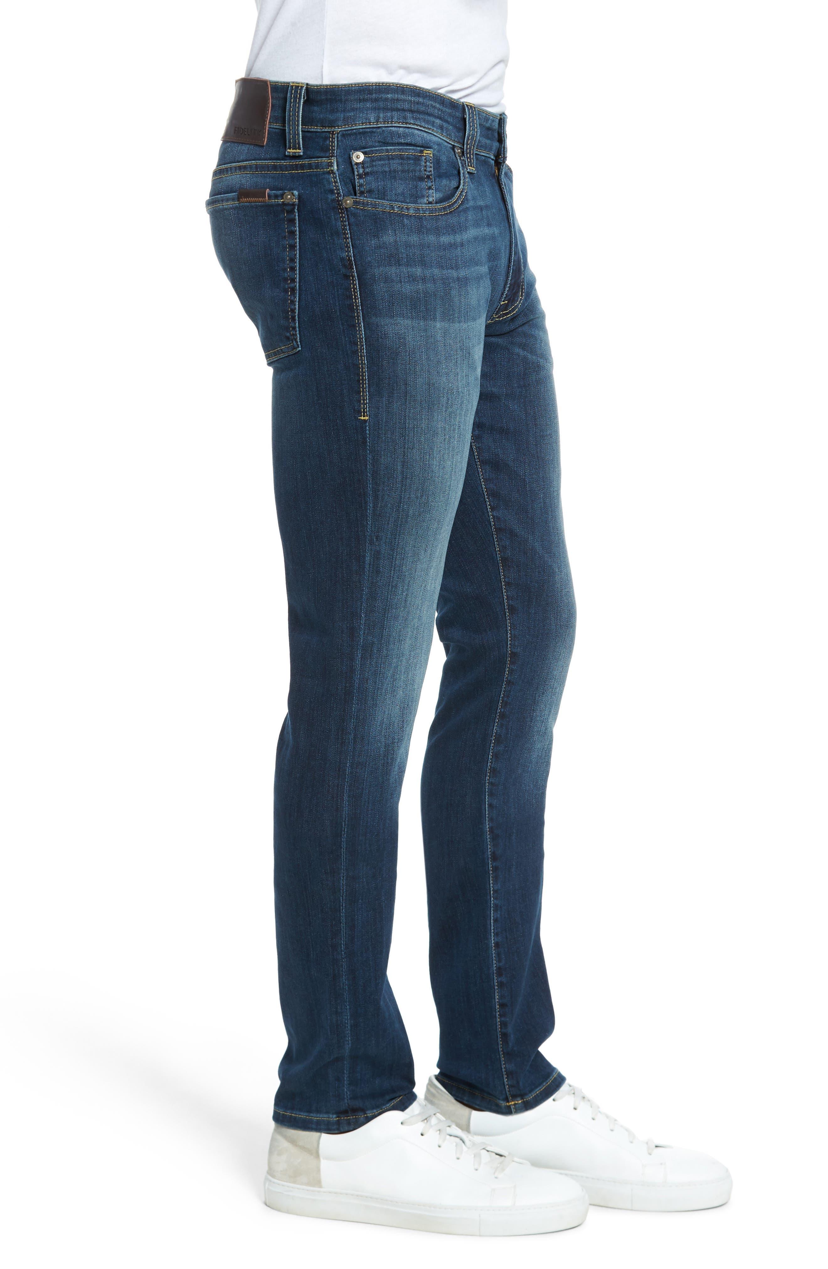 Alternate Image 3  - Fidelity Denim Torino Slim Fit Jeans (Providence)