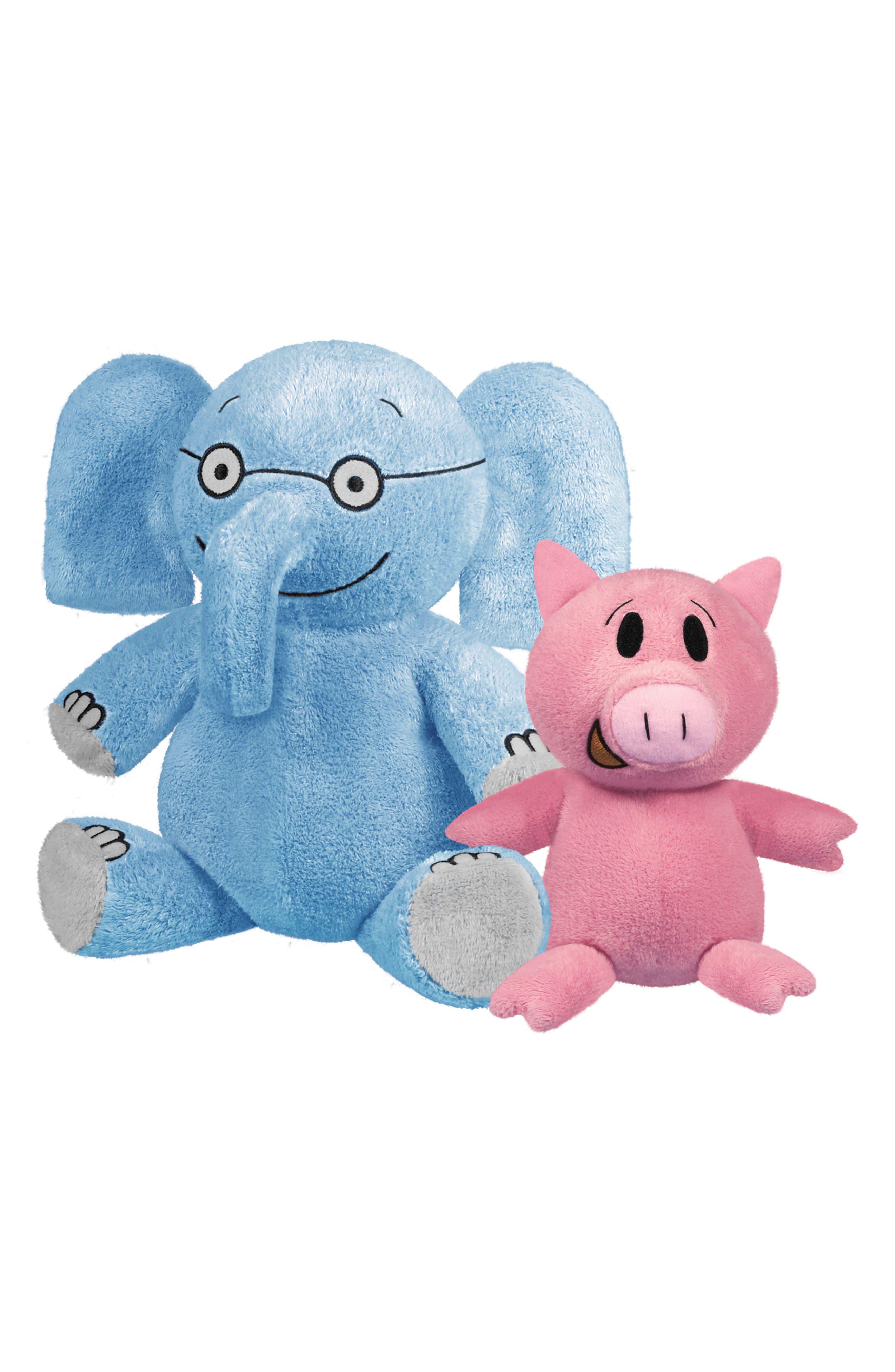 yOttOy Two-Piece Elephant and Piggie Stuffed Animal Set