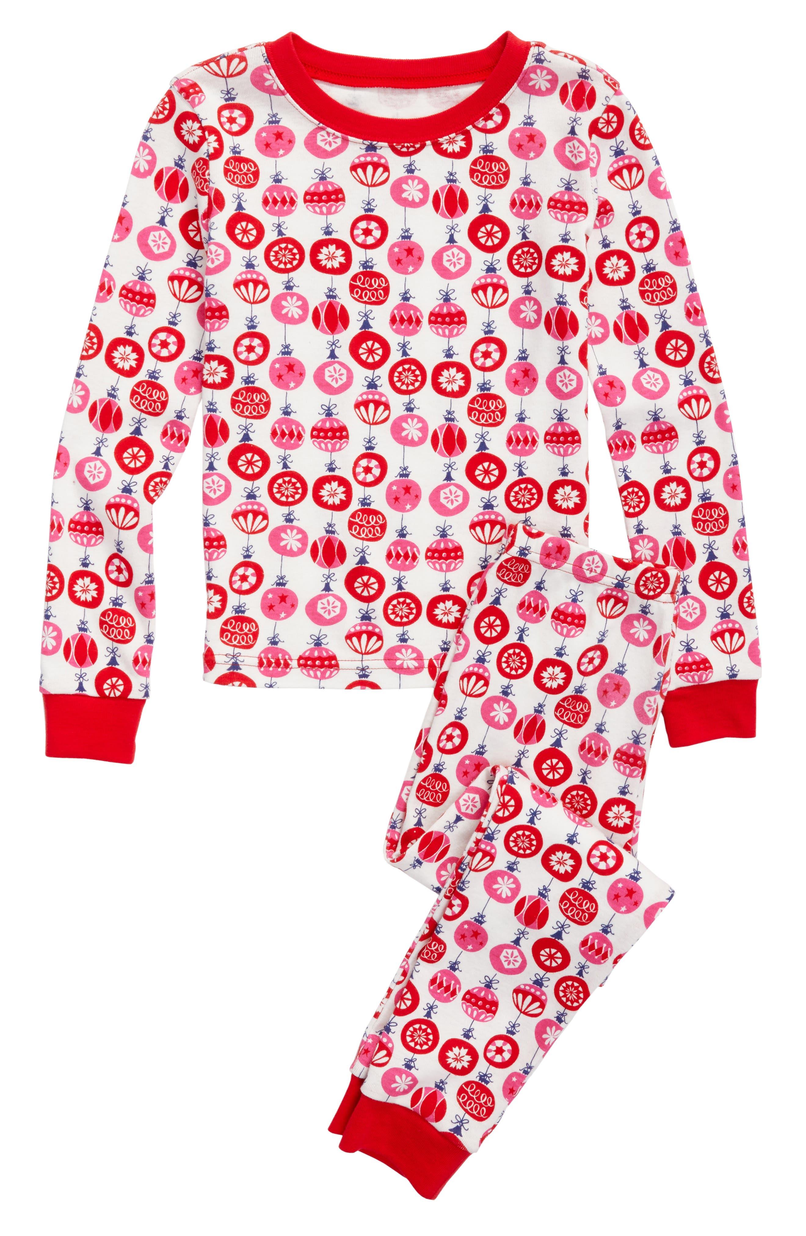 Main Image - Tucker + Tate Fitted Two-Piece Pajamas (Toddler Girls, Little Girls & Big Girls)