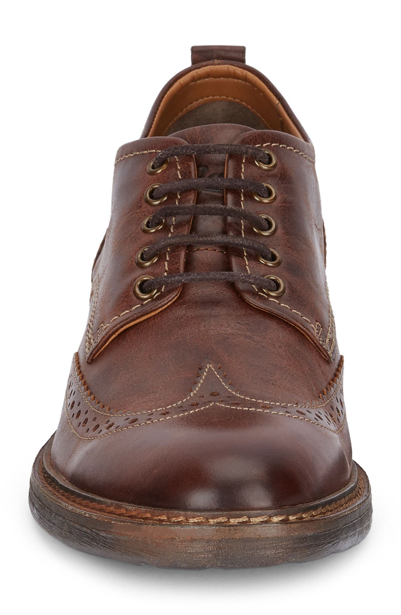 Hamilton Wingtip,                             Alternate thumbnail 4, color,                             Cognac