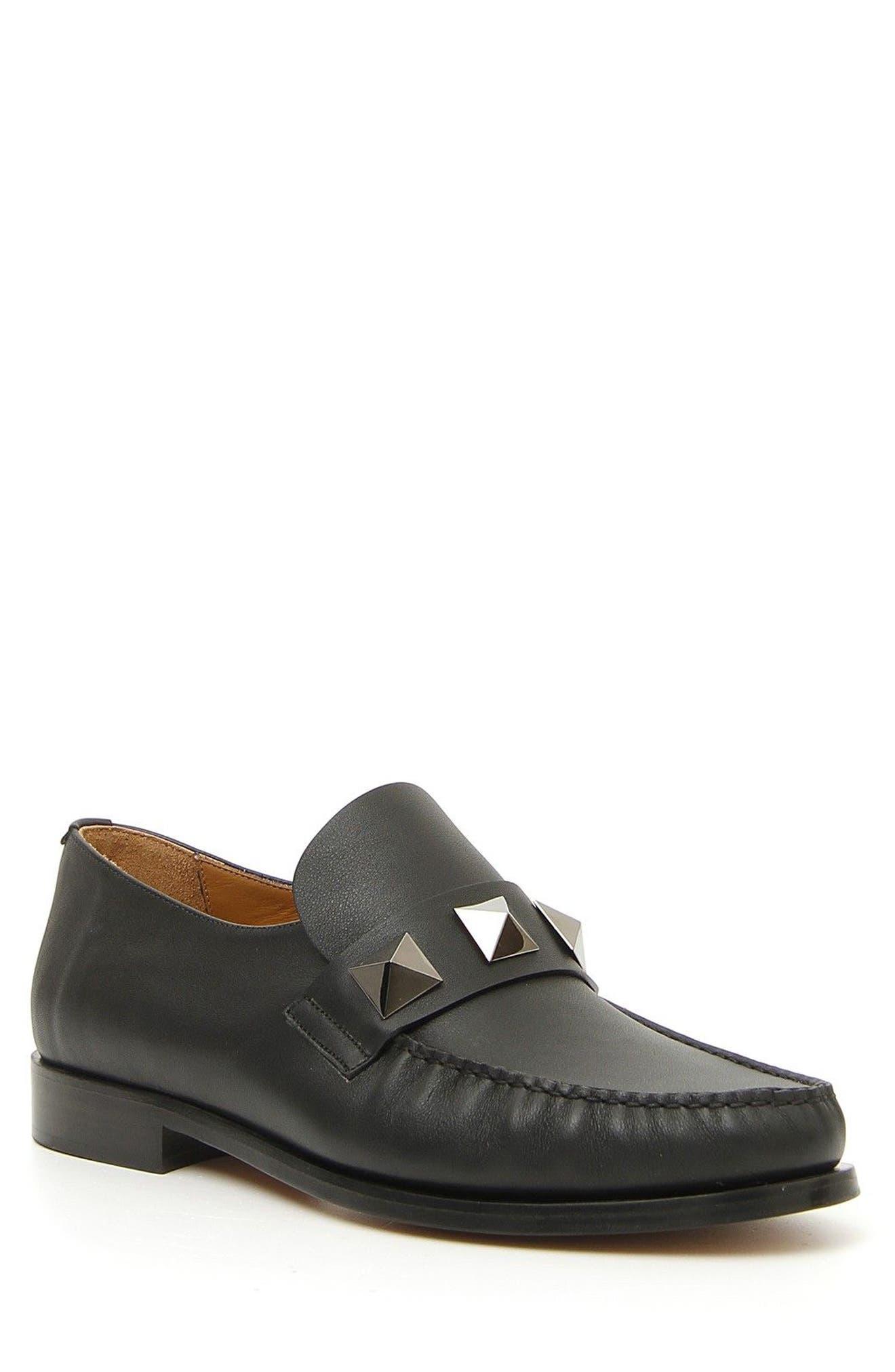 Lock Loafer,                         Main,                         color, Black