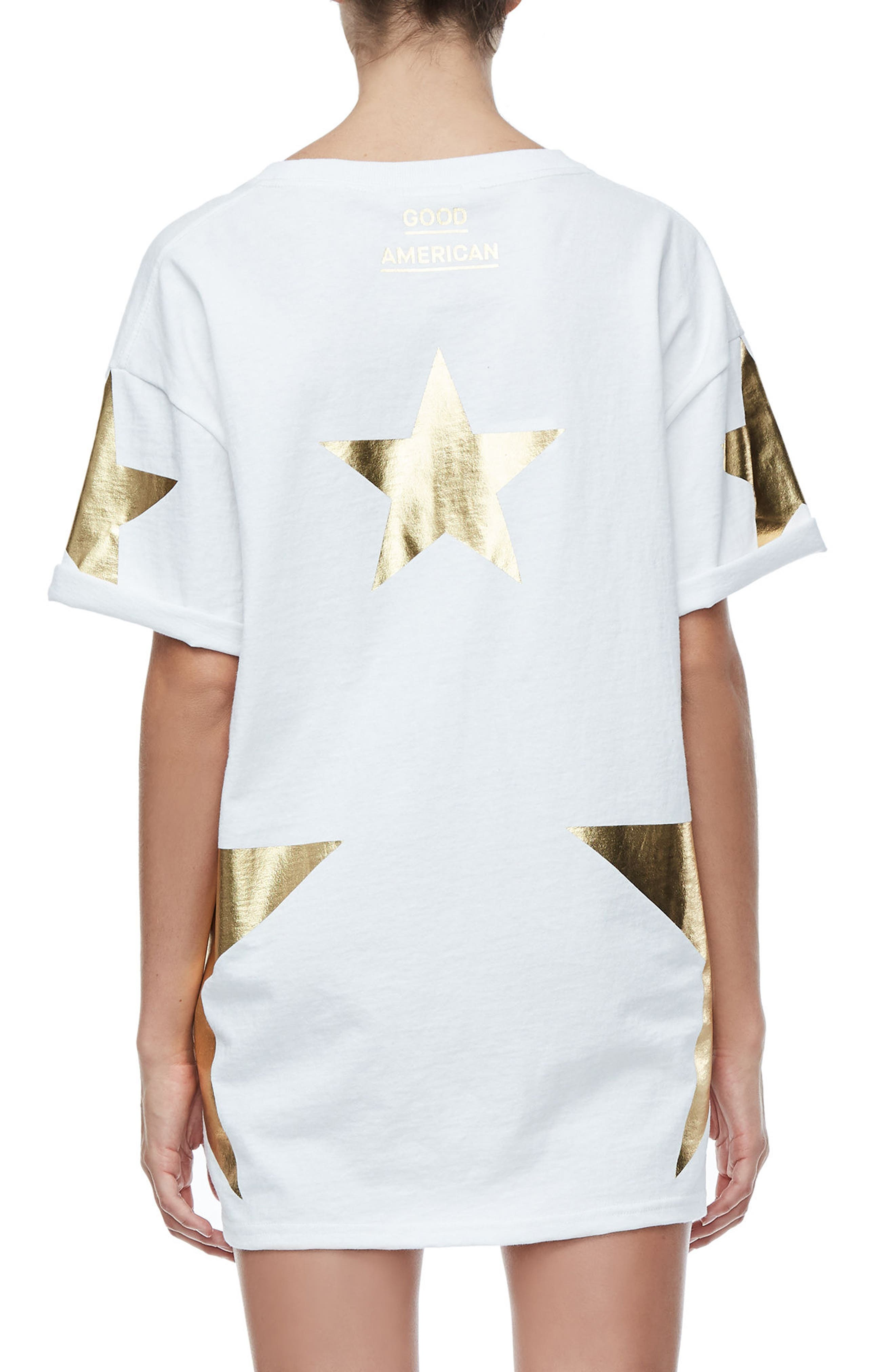 Goodies Super Star Tee,                             Alternate thumbnail 2, color,                             Gold001