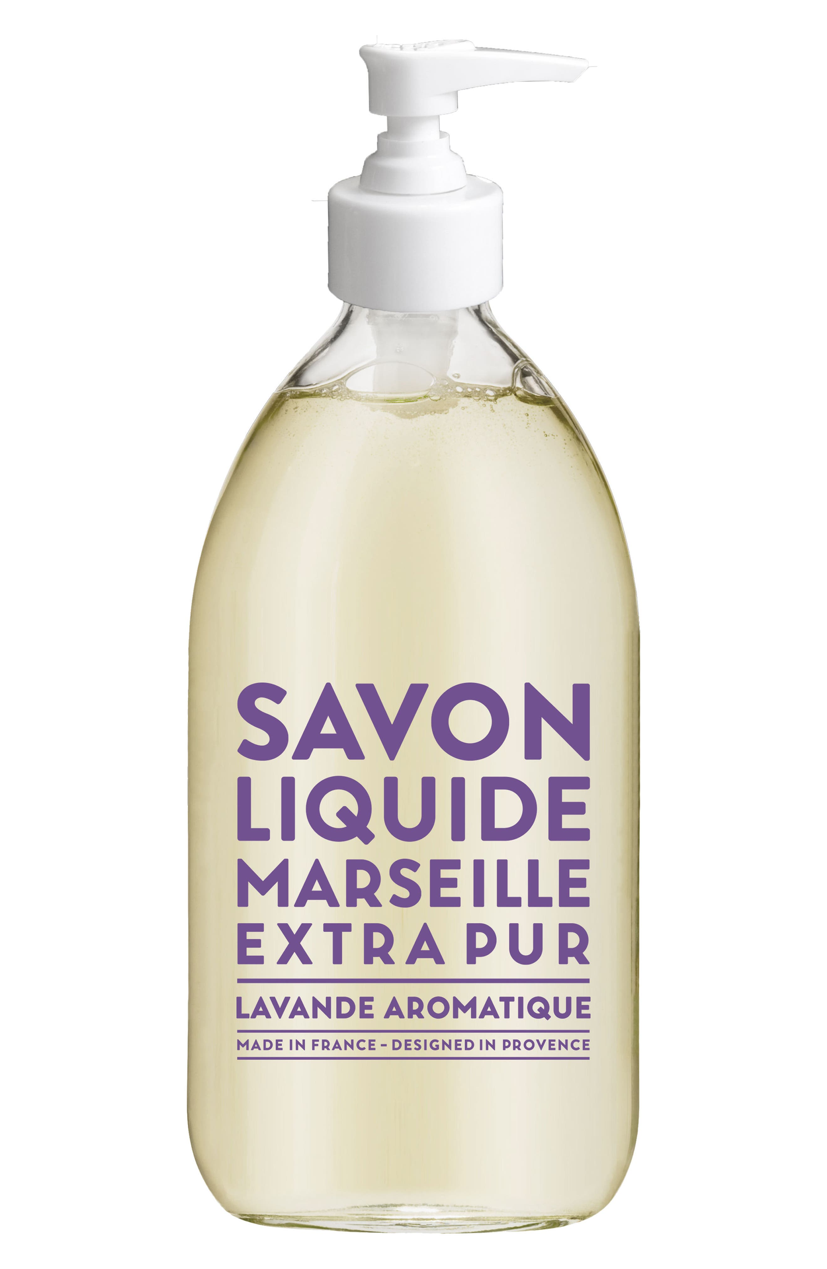 Aromatic Lavender Liquid Marseille Soap,                         Main,                         color, No Color