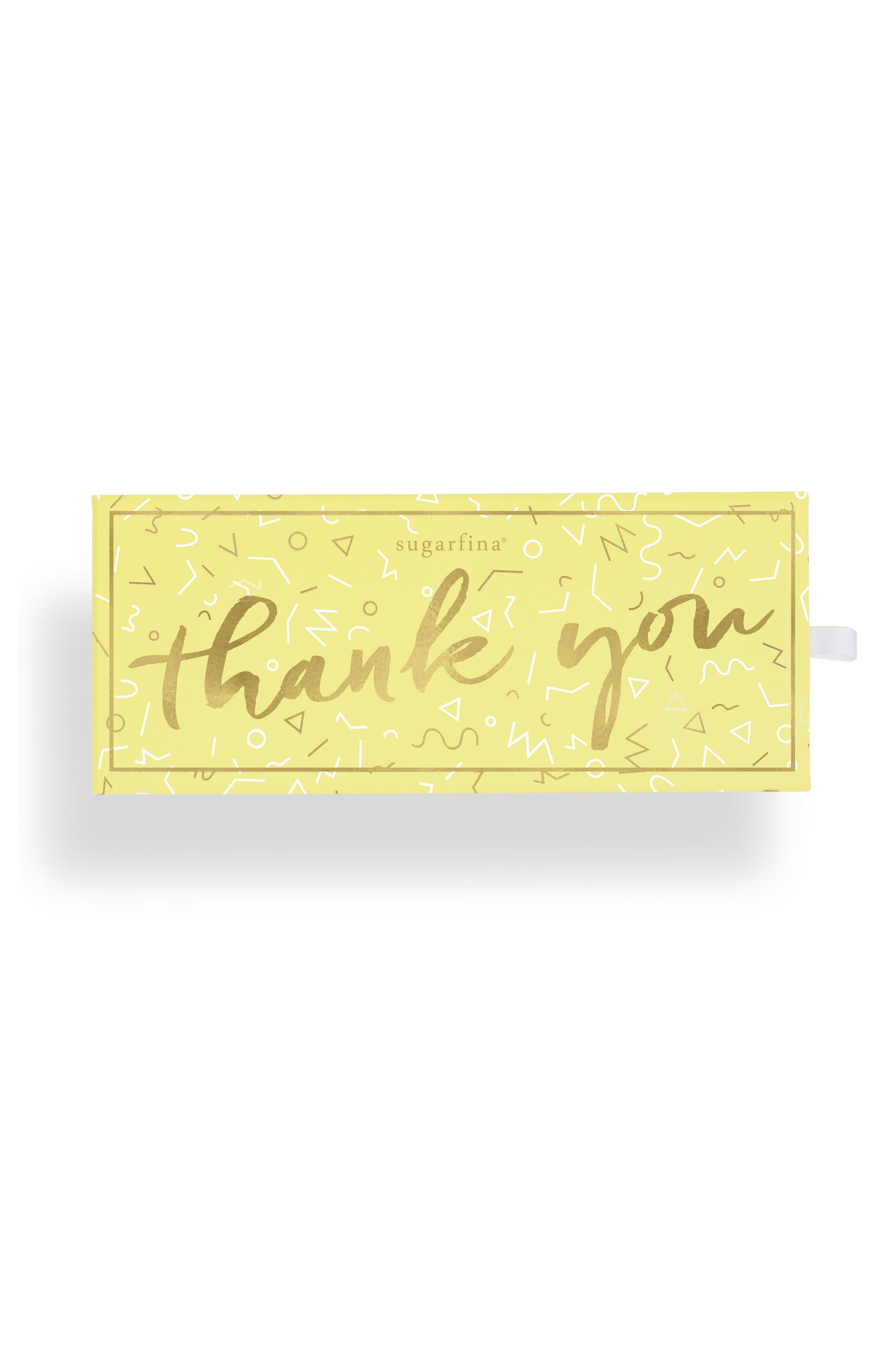 Thank You 3-Piece Candy Bento Box,                             Alternate thumbnail 2, color,                             Yellow