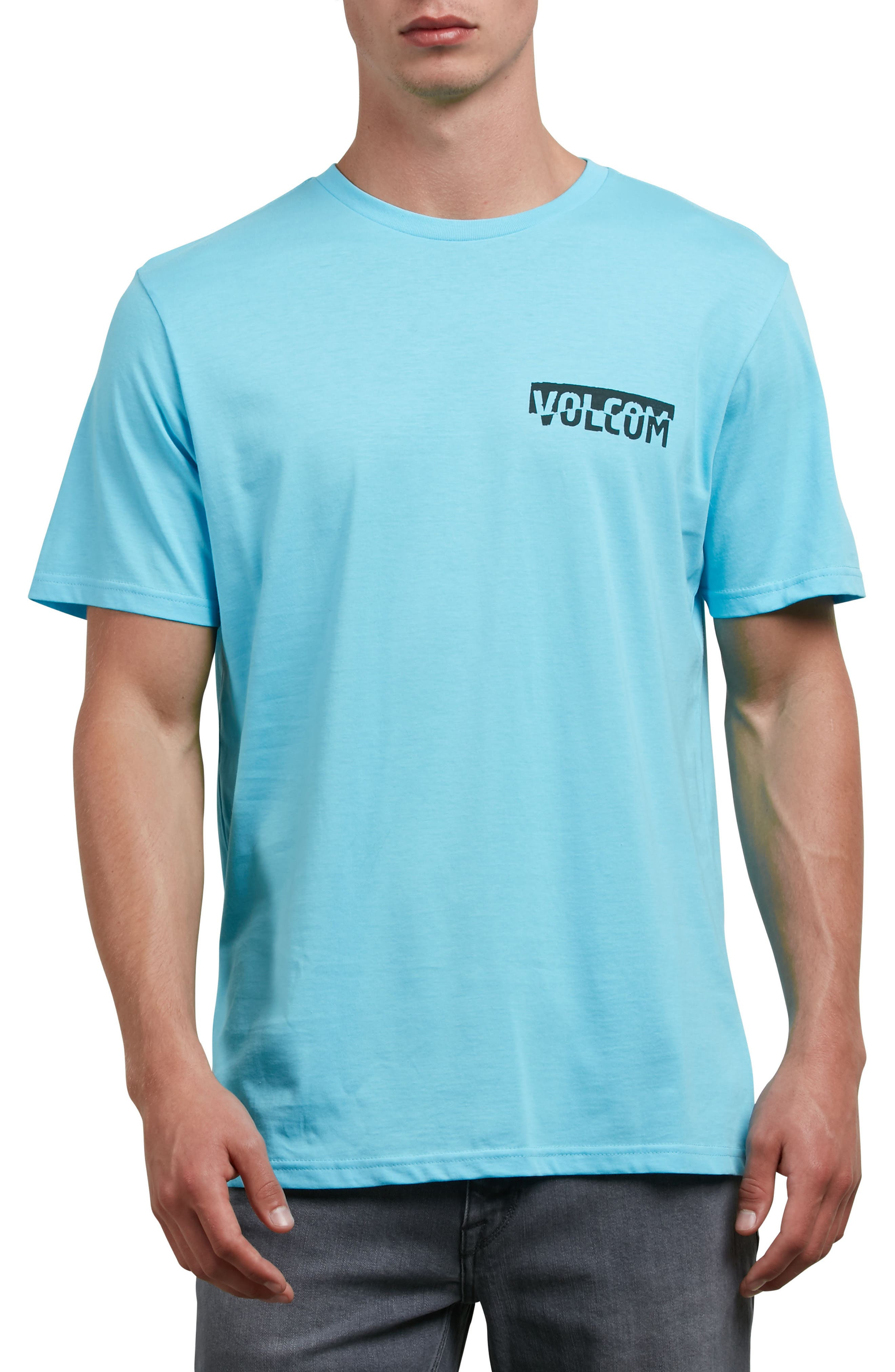 Fracture T-Shirt,                             Main thumbnail 1, color,                             Blue