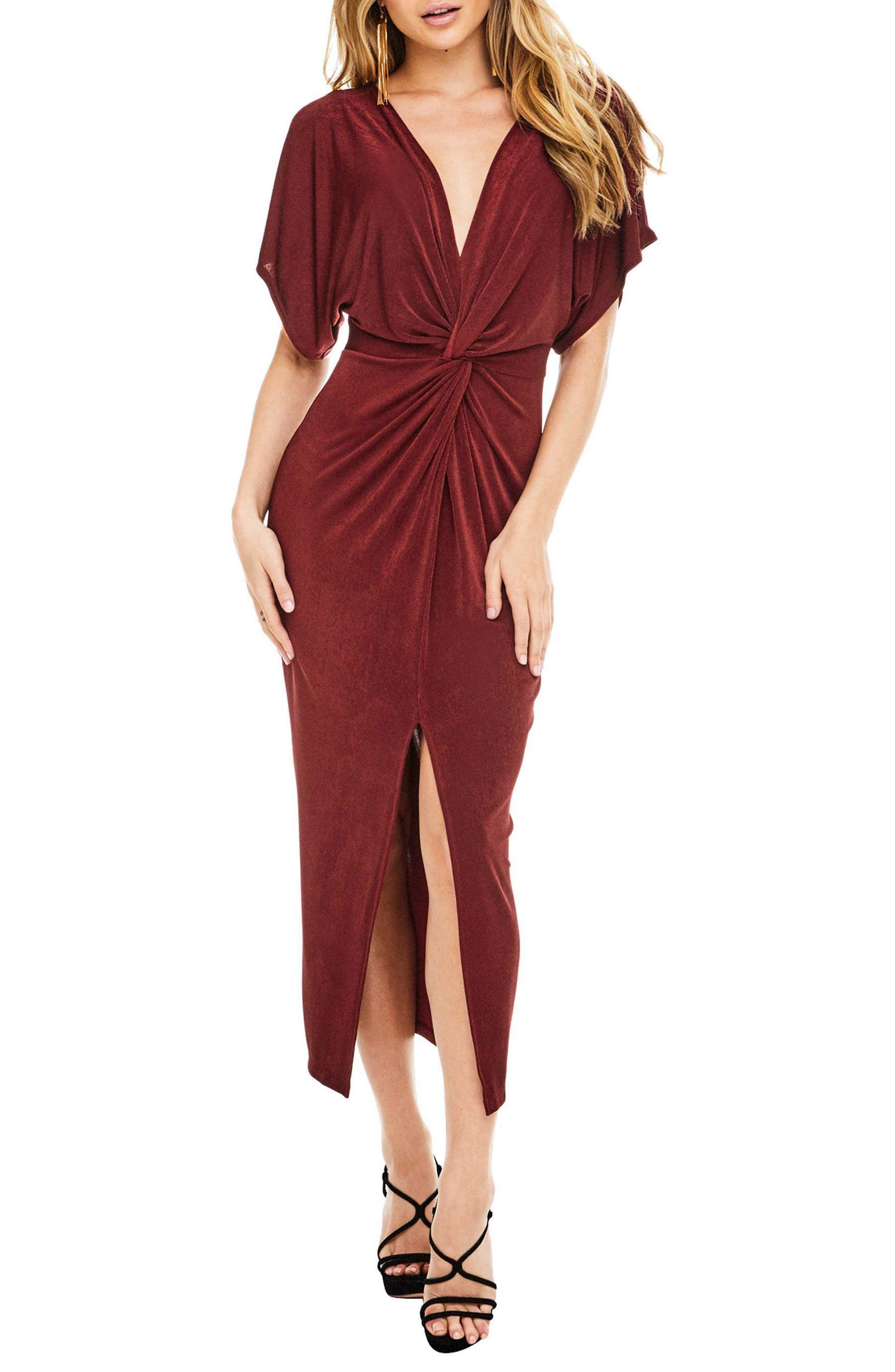 ASTR the Label Kiera Midi Dress