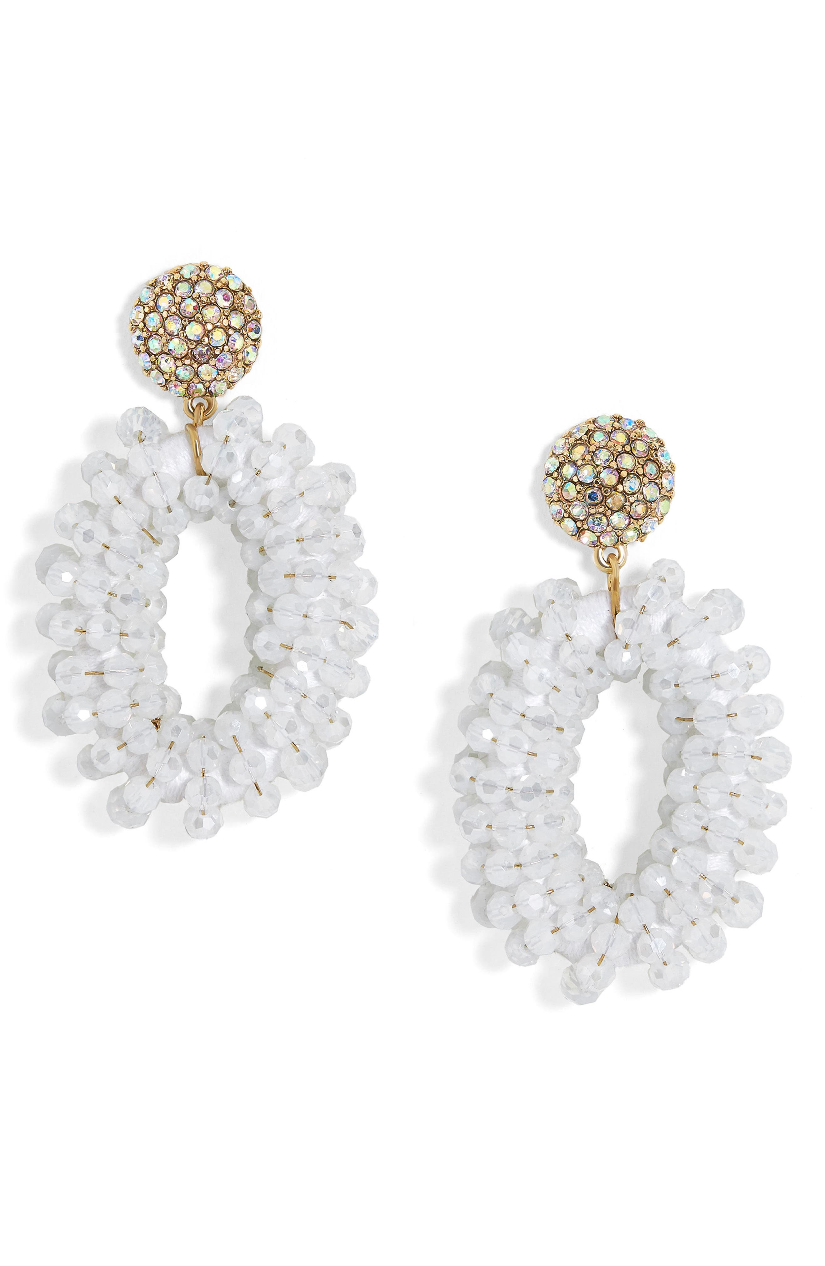Main Image - BaubleBar Eve Beaded Drop Earrings