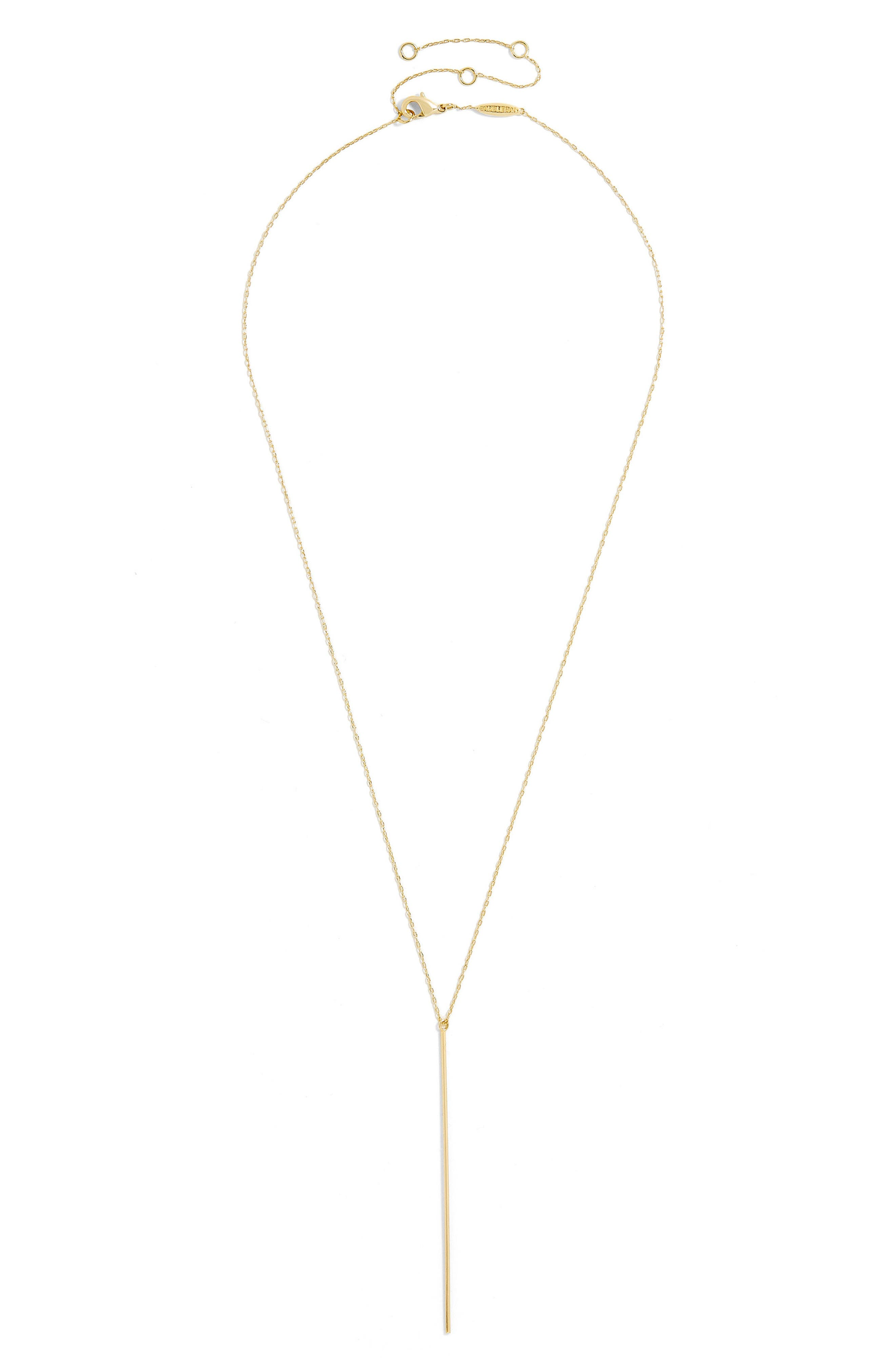 Mara Everyday Fine Layered Necklace,                             Main thumbnail 1, color,                             Gold