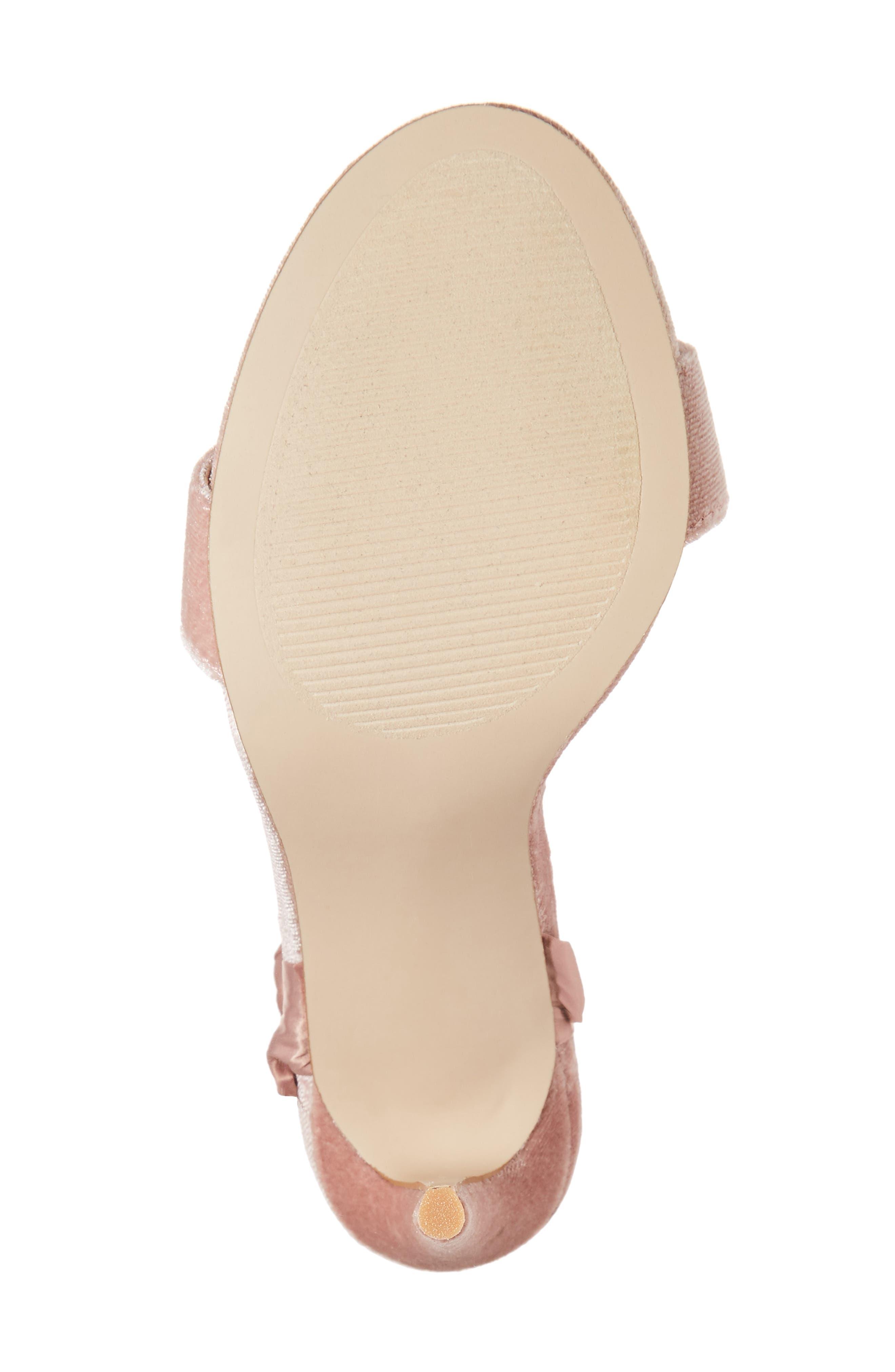 Promise Sandal,                             Alternate thumbnail 6, color,                             Blush Fabric
