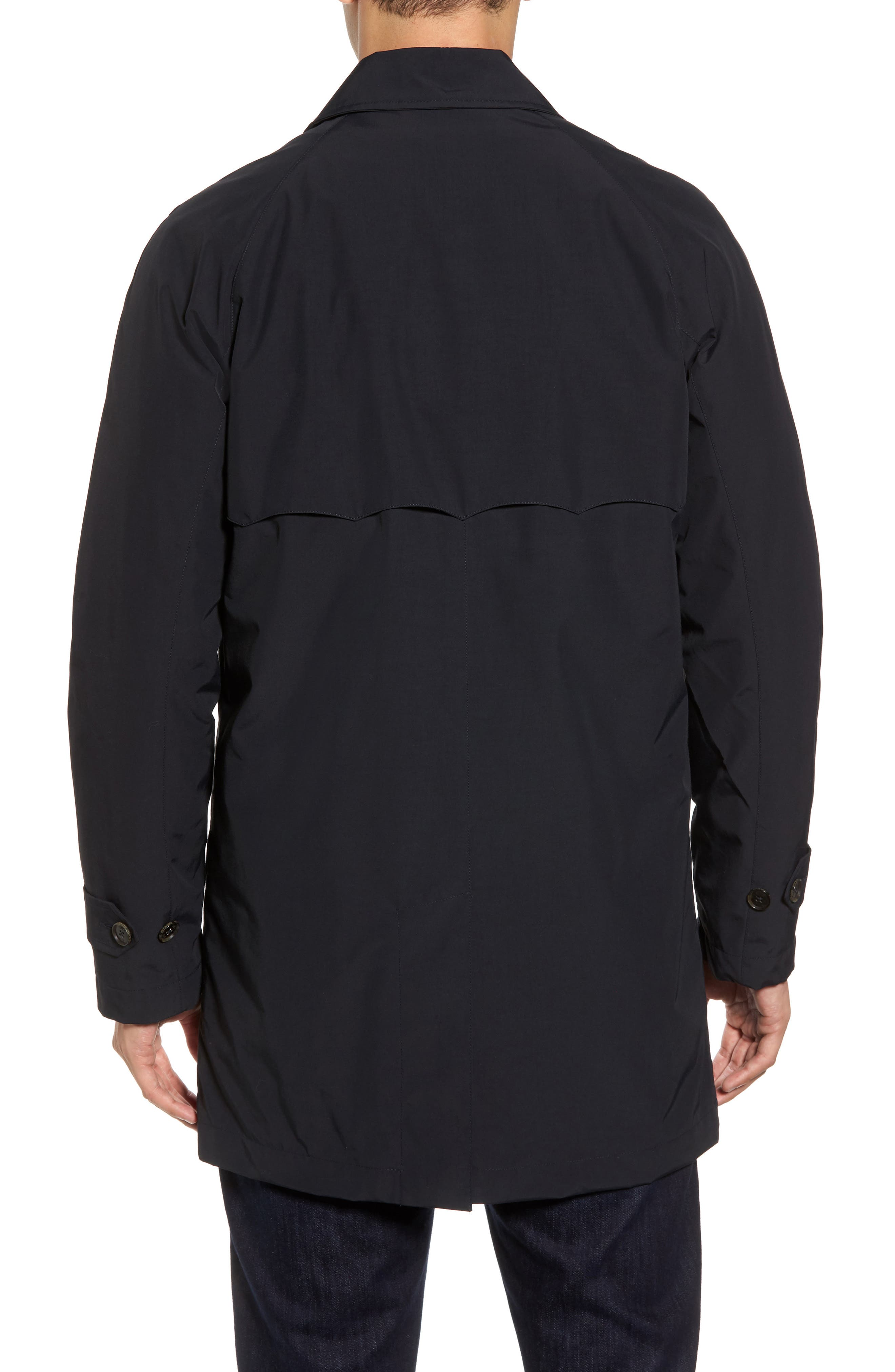 Waterproof Coat with Removable Liner,                             Alternate thumbnail 2, color,                             Dark Navy