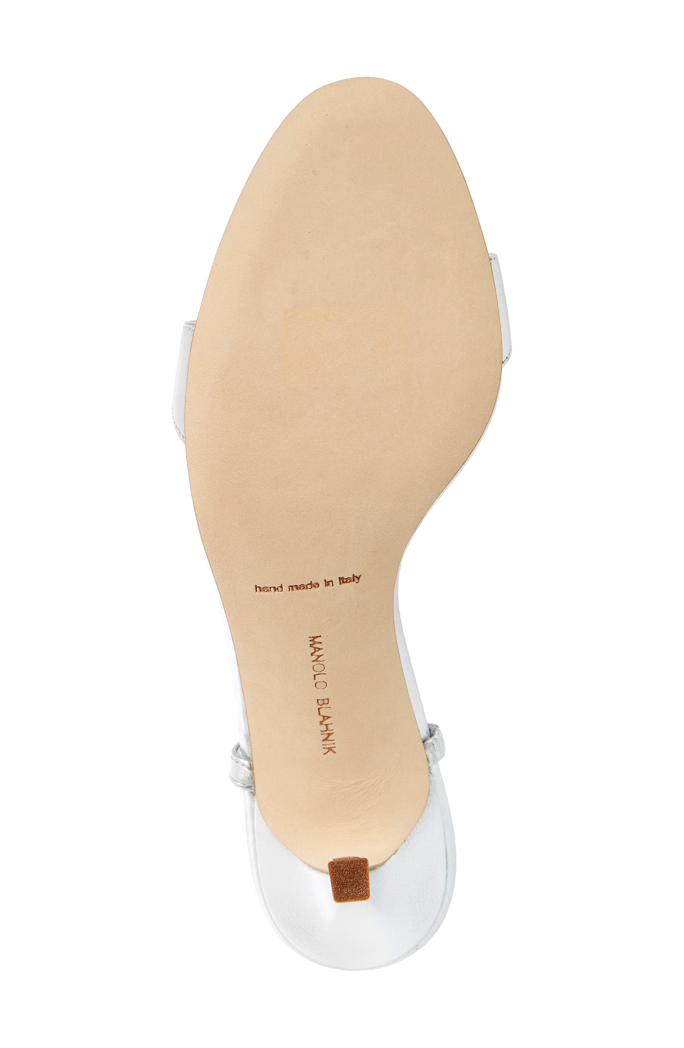 Dallifac Embellished Sandal,                             Alternate thumbnail 6, color,                             Silver