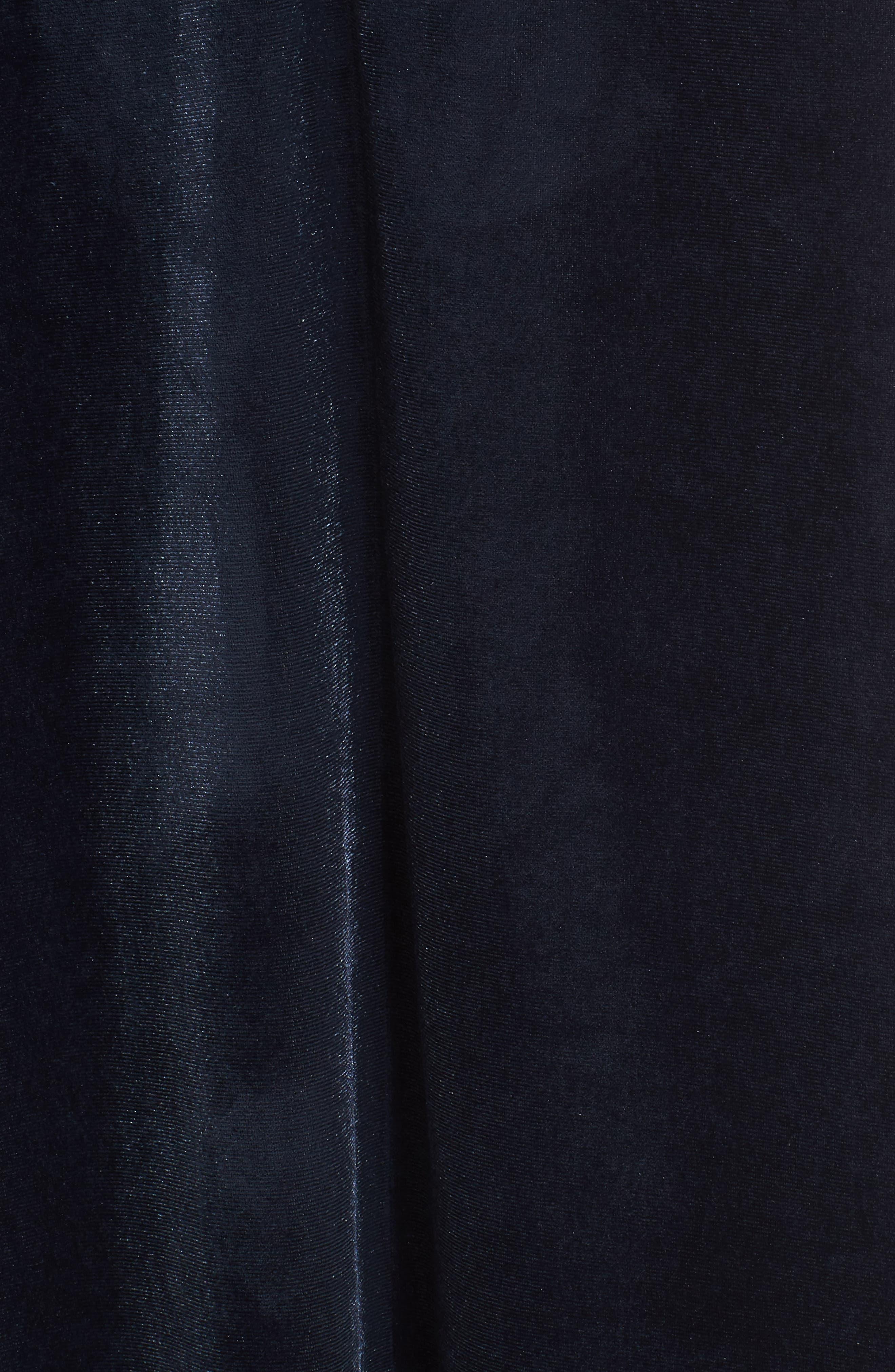 Sleepwear Velvet Caftan,                             Alternate thumbnail 6, color,                             Blue