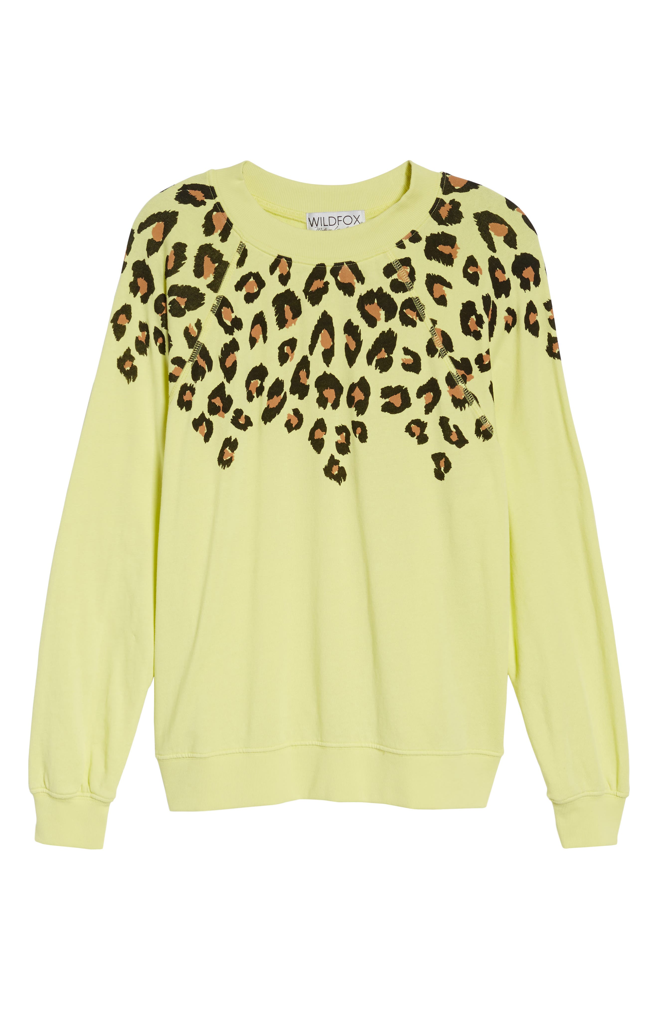 Alternate Image 6  - Wildfox Animal Instinct - Sommers Sweatshirt