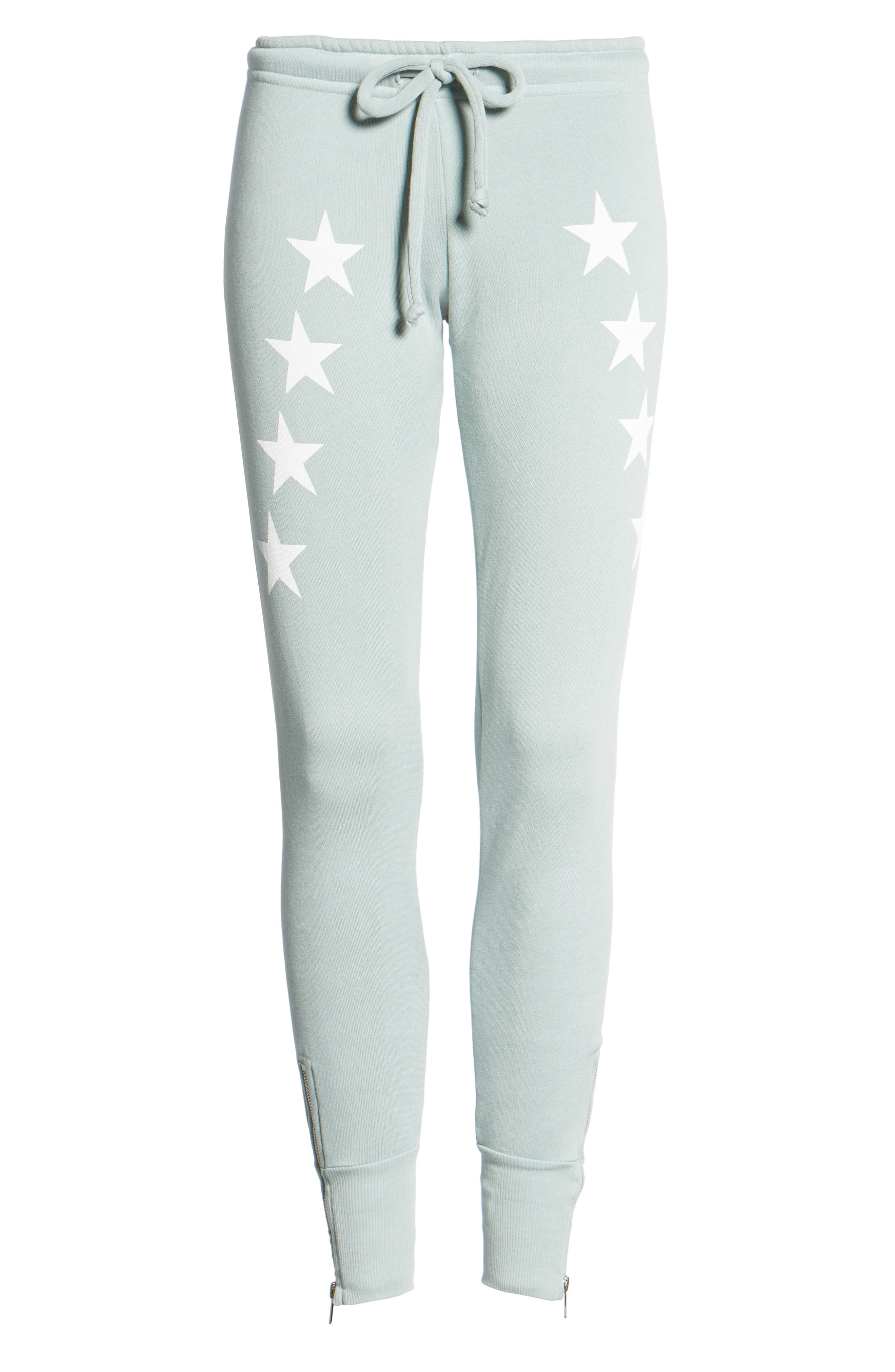 Alternate Image 6  - Wildfox Cosmos Fame Jogger Pants