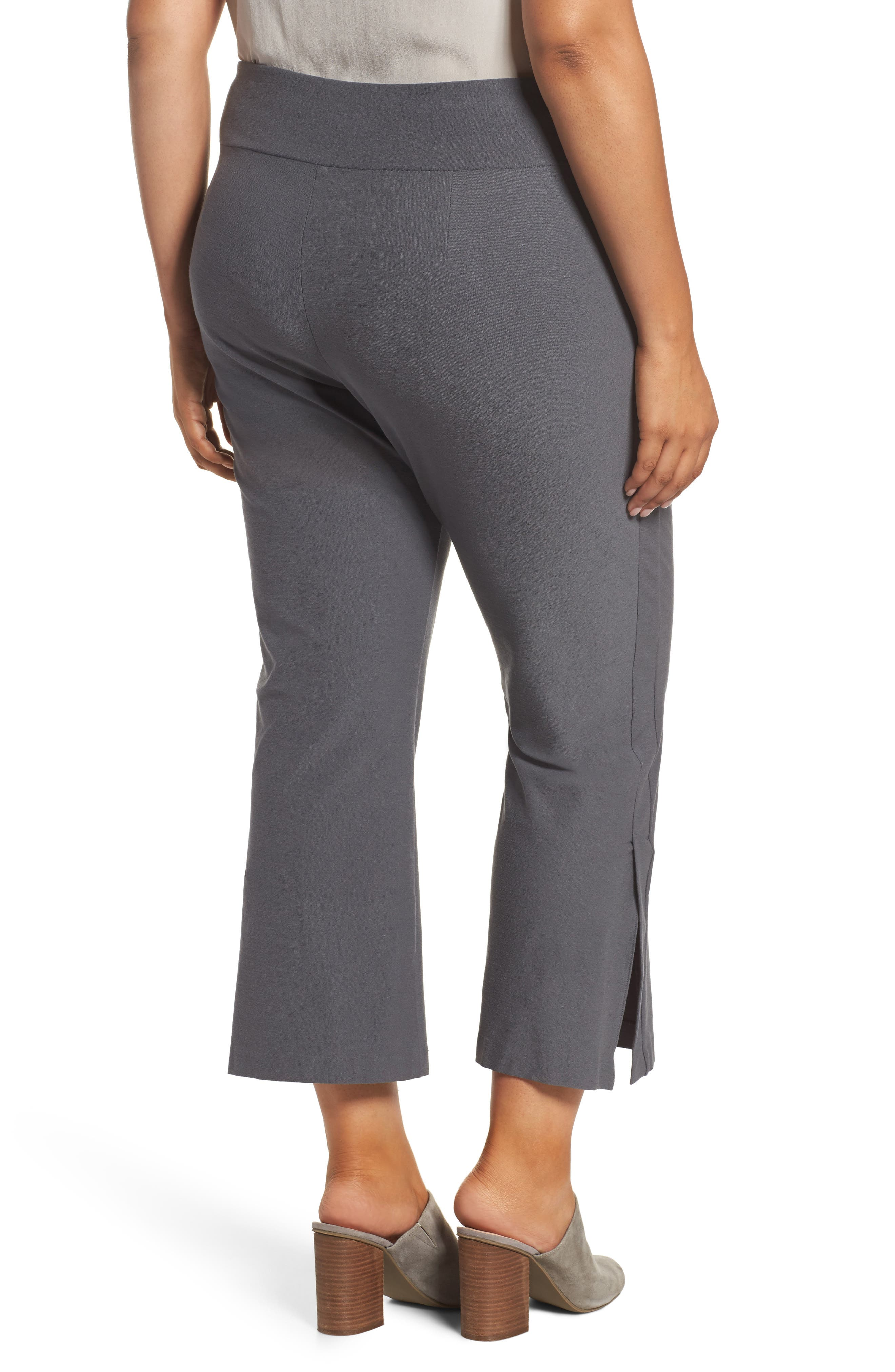 Alternate Image 2  - Eileen Fisher Stretch Bootcut Pants (Plus Size)