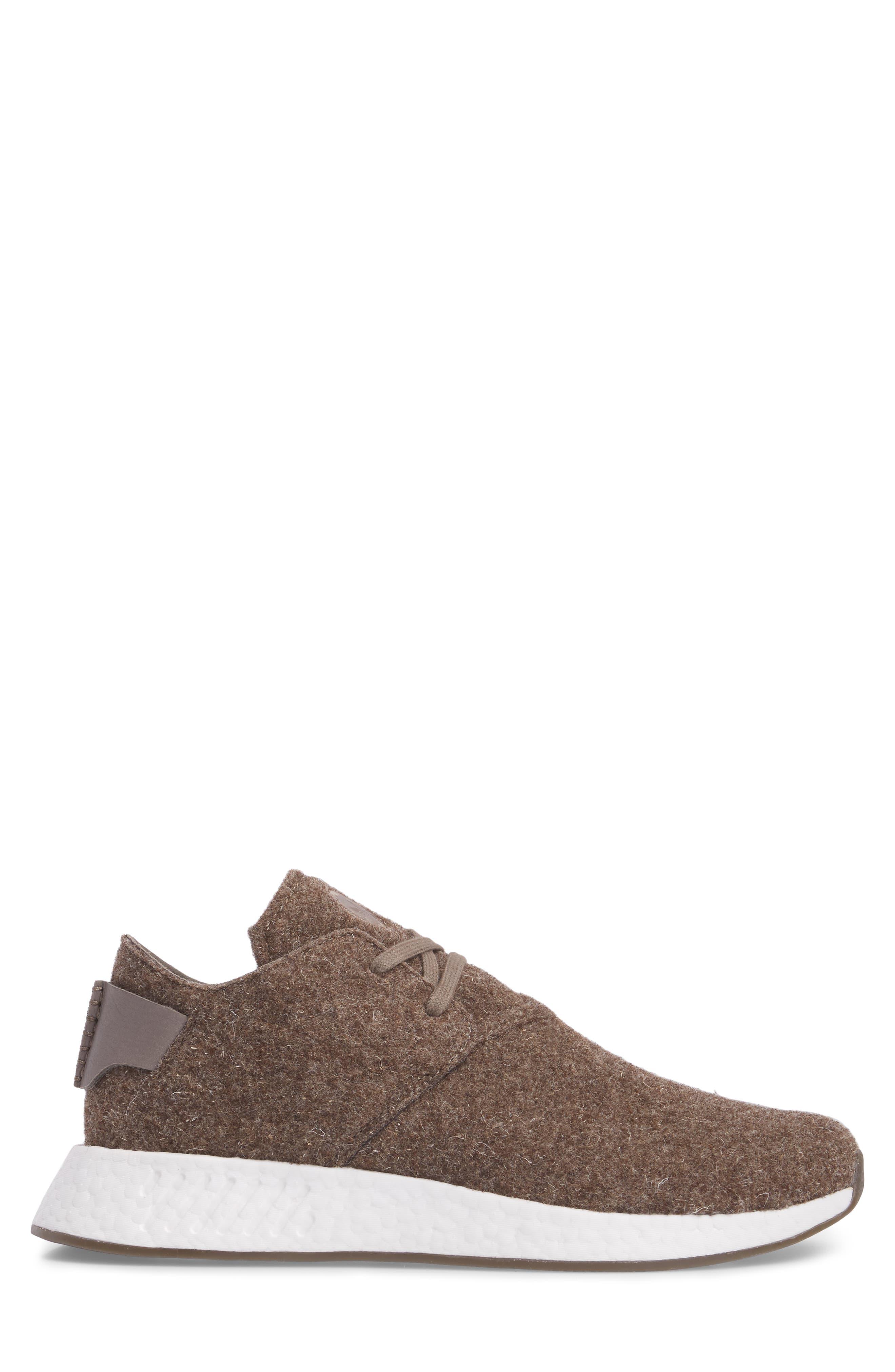 NMD C2 Sneaker (Men0,                             Alternate thumbnail 3, color,                             Simple Brown/ Gum