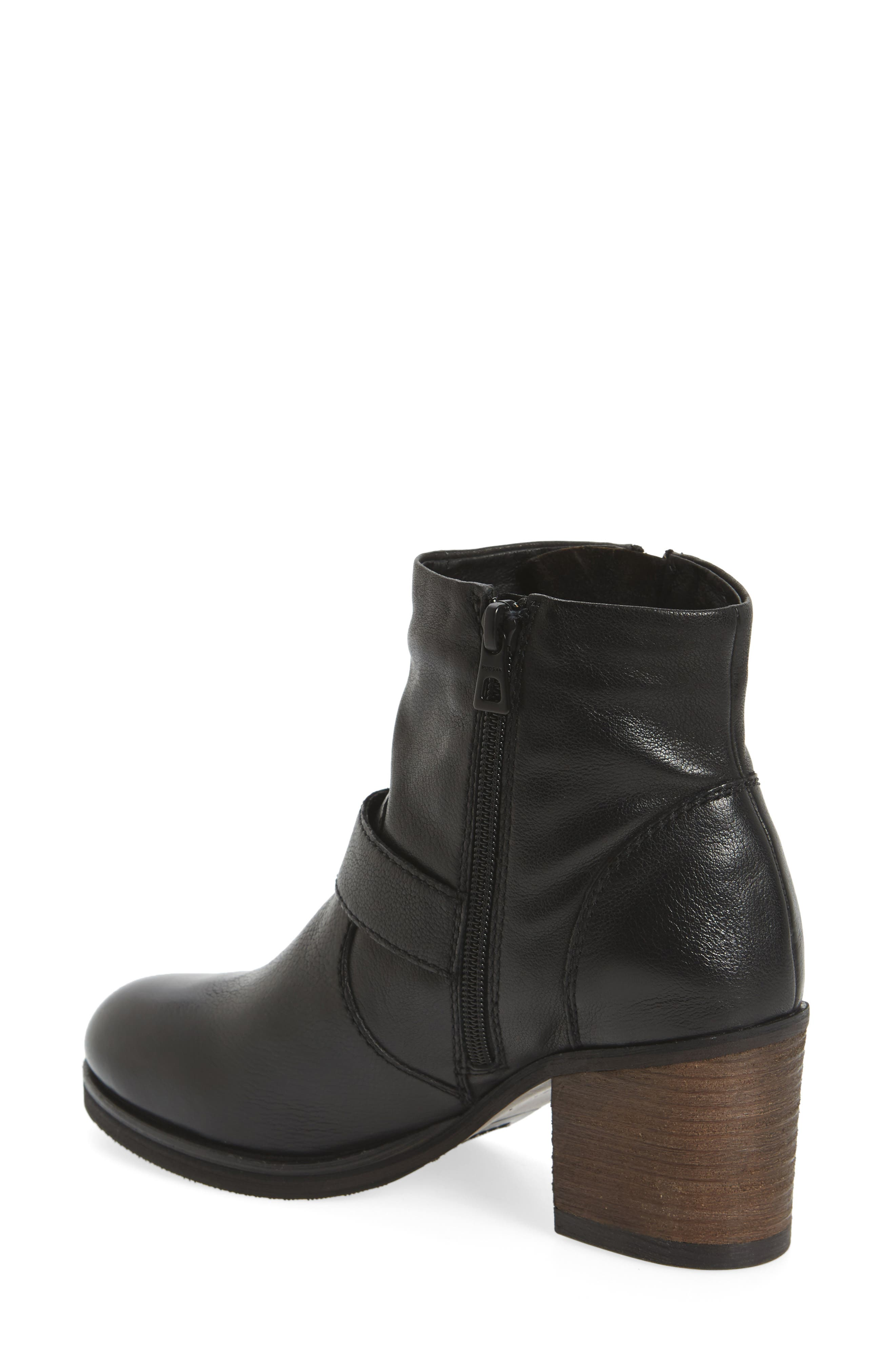 Balady Boot,                             Alternate thumbnail 2, color,                             Black/ Black Leather