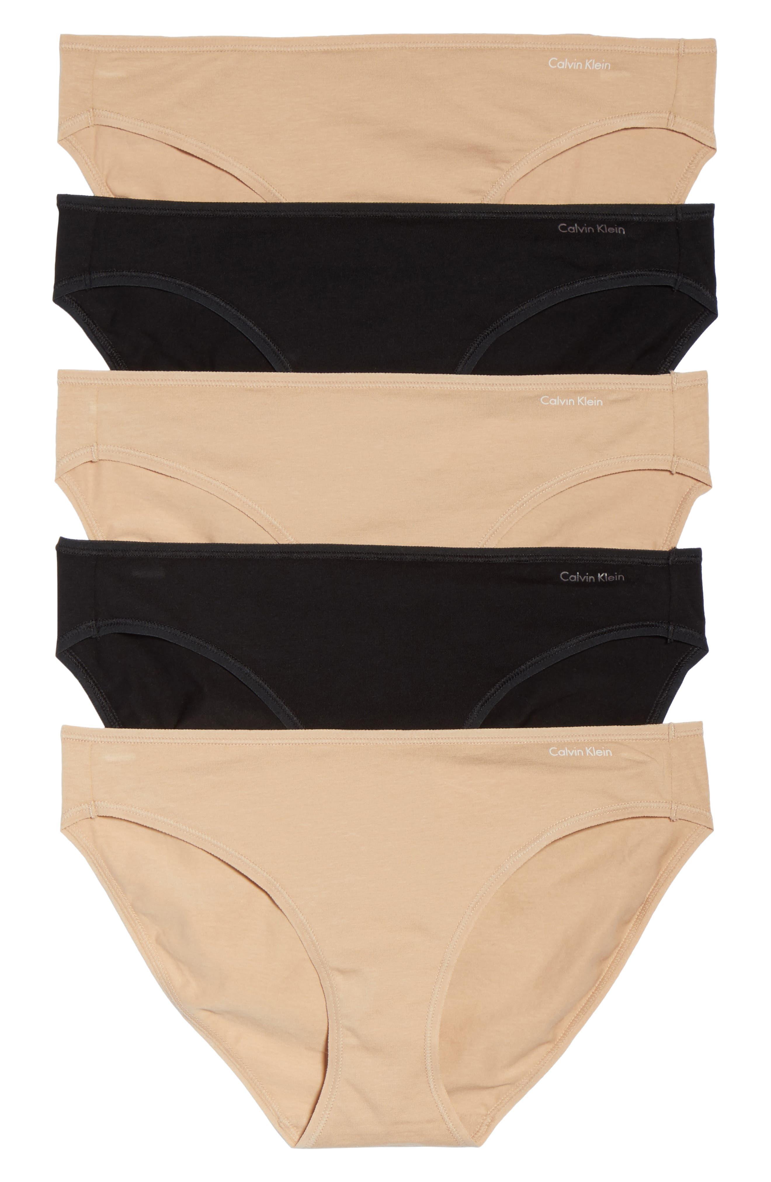 Calvin Klein Form 5-Pack Bikinis
