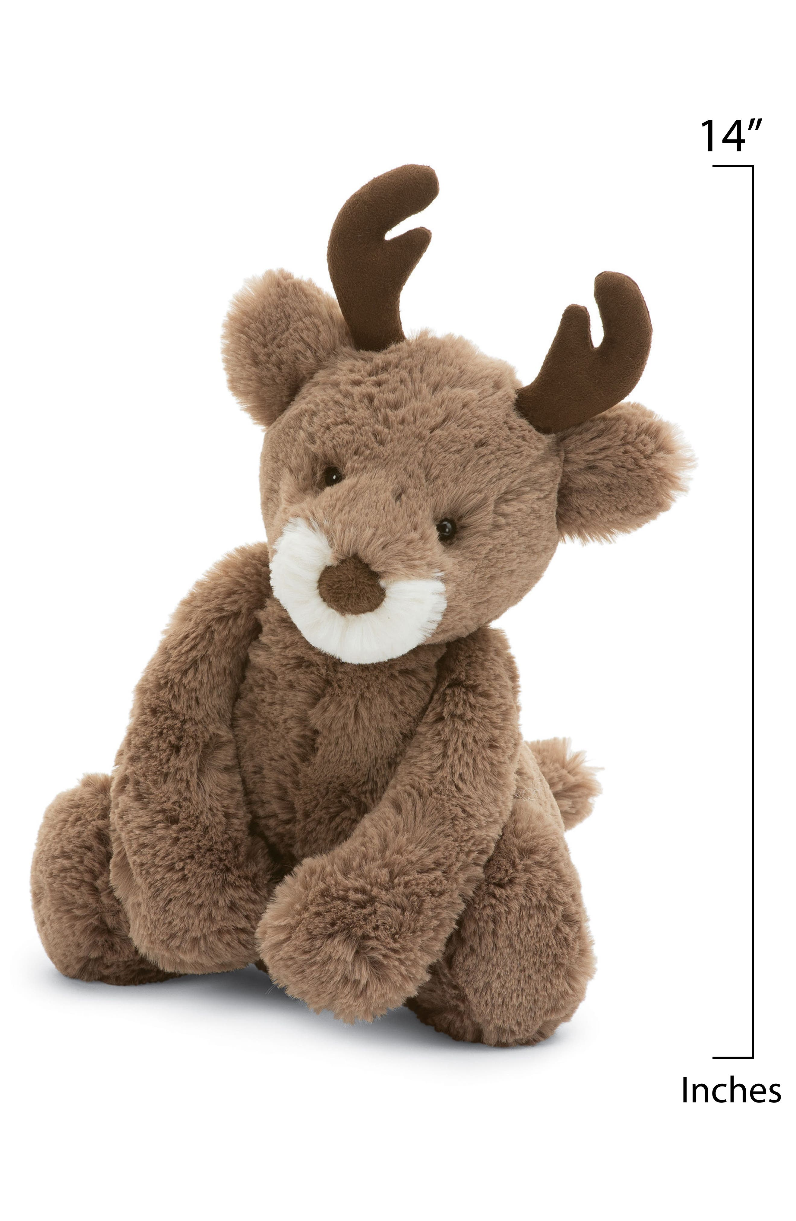 Alternate Image 2  - Jellycat Medium Bashful Reindeer Stuffed Animal