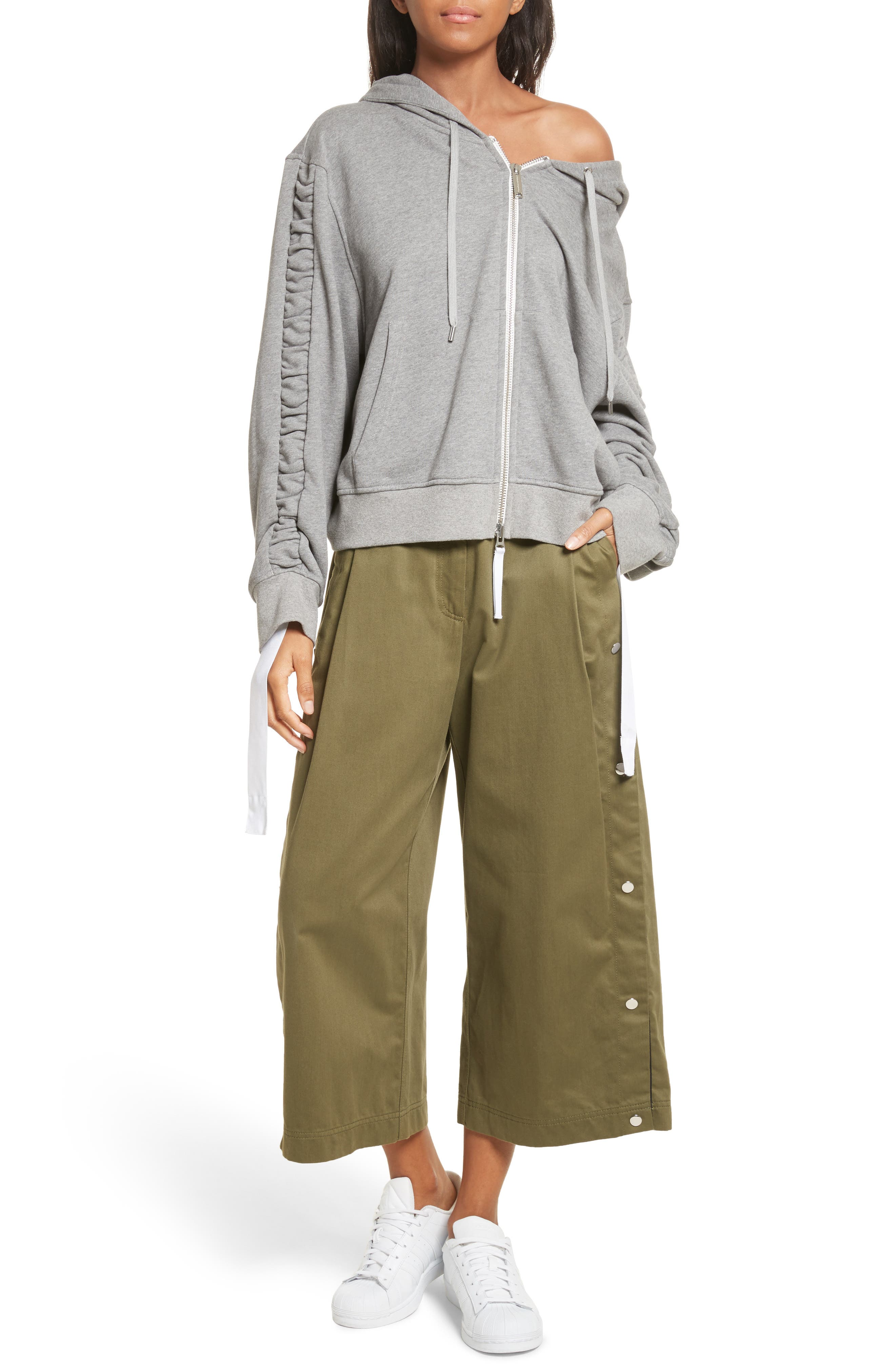 Alternate Image 7  - Public School Tess Wide Leg Crop Pants