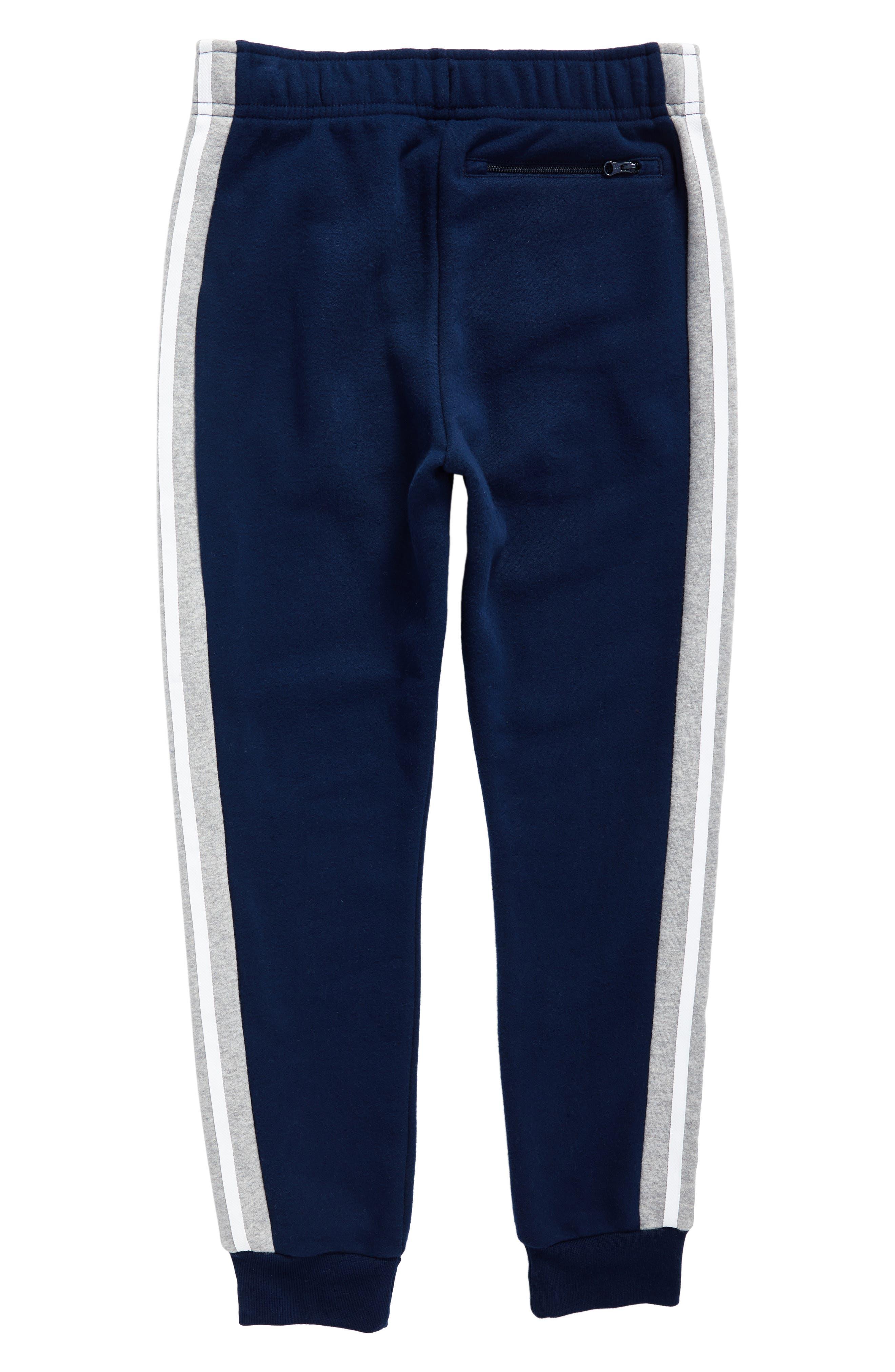 adidas FL Jogger Pants,                             Alternate thumbnail 2, color,                             Collegiate Navy/ Medium Grey