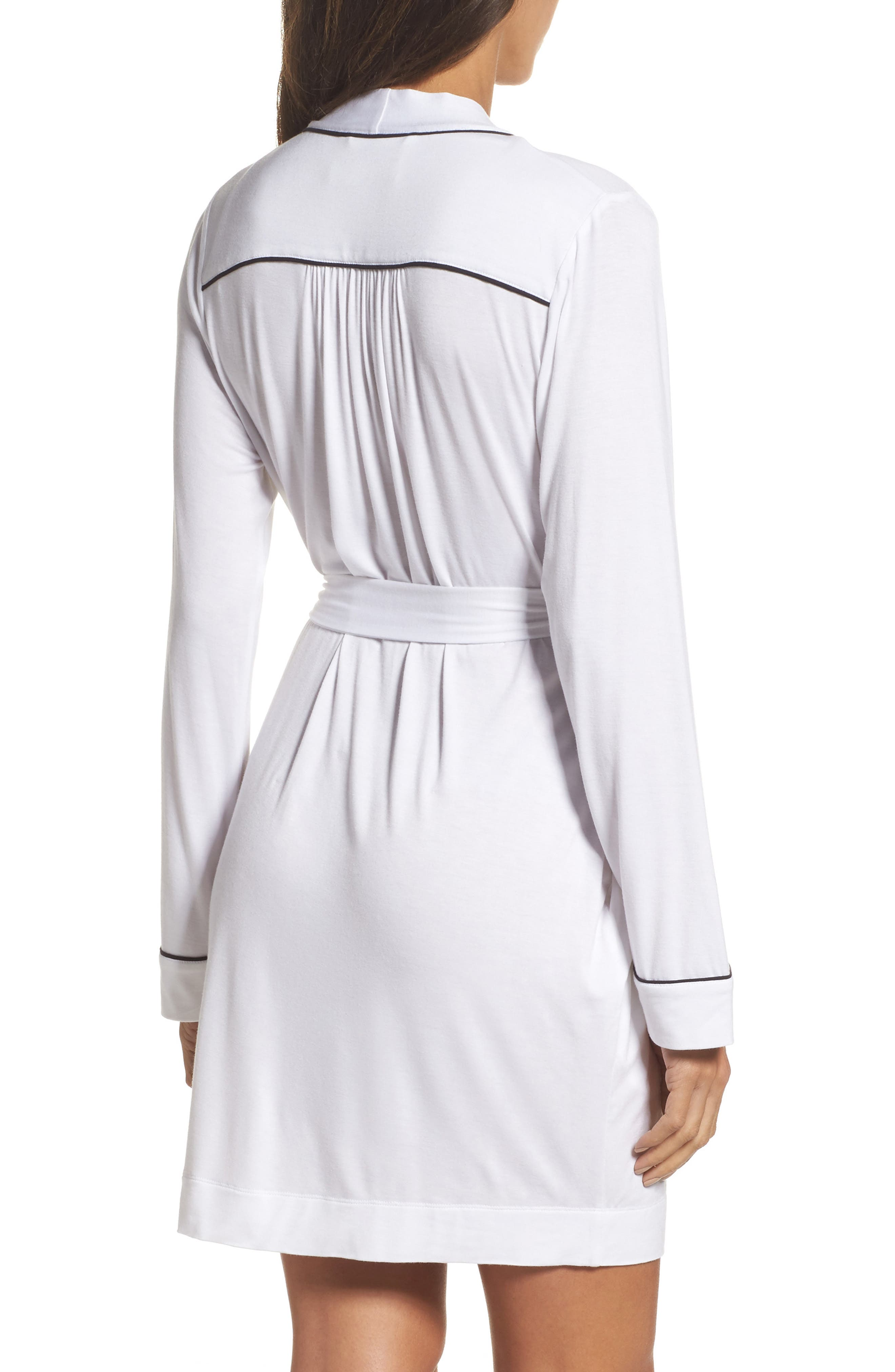 Aldridge Short Robe,                             Alternate thumbnail 2, color,                             Cream