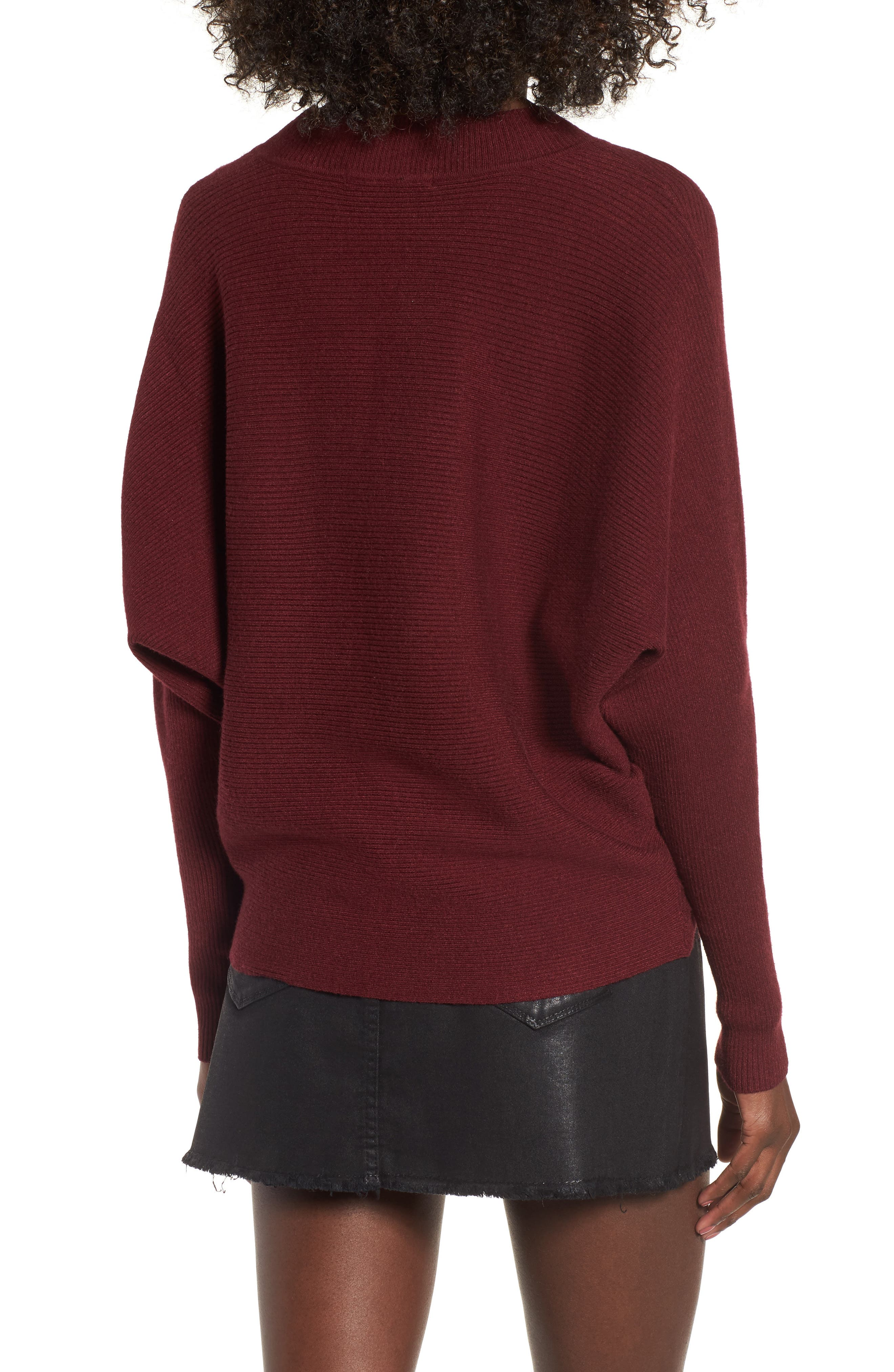 Alternate Image 2  - Cotton Emporium Dolman Sweater