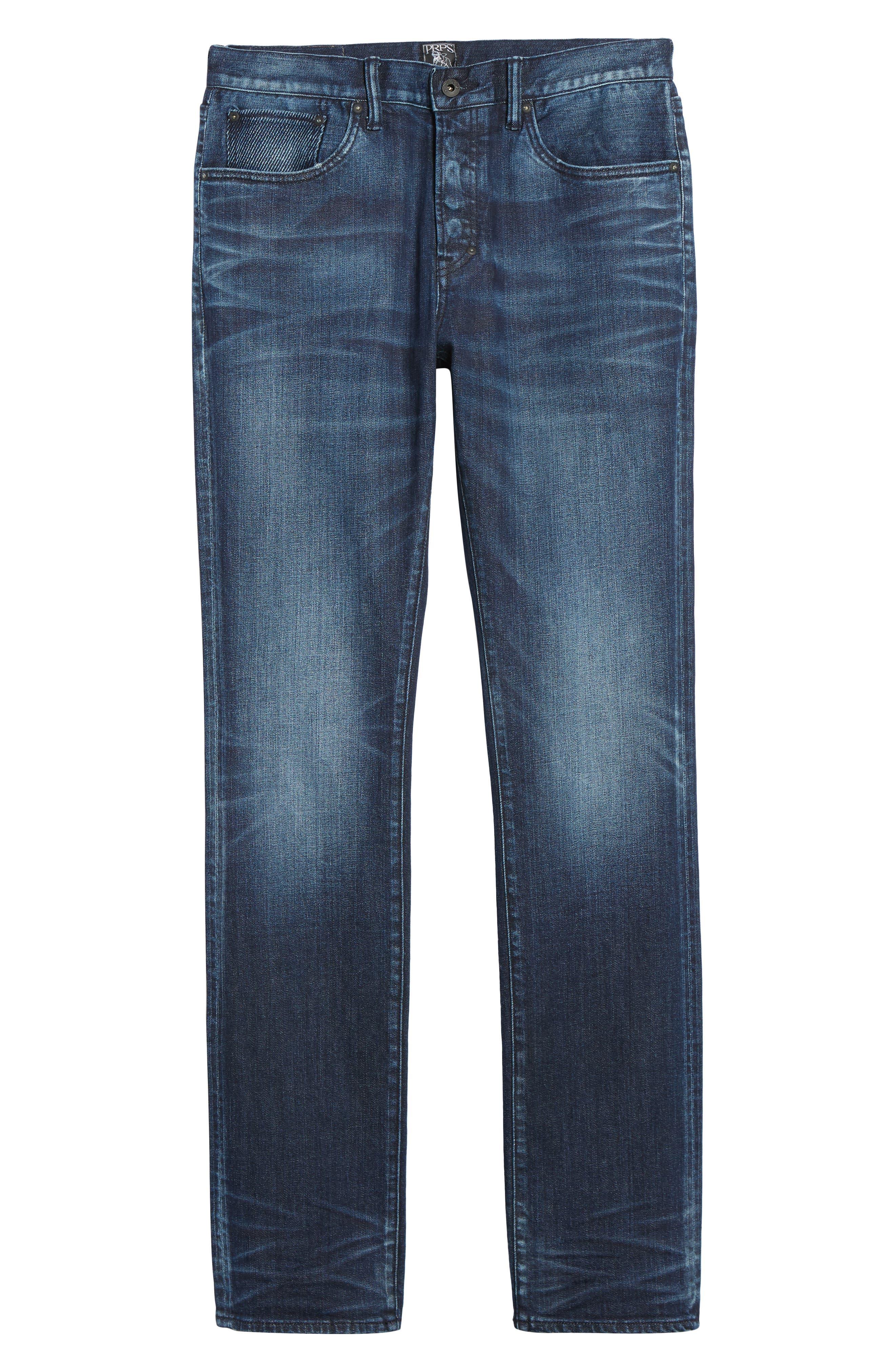 Alternate Image 6  - PRPS Demon Slim Straight Leg Jeans