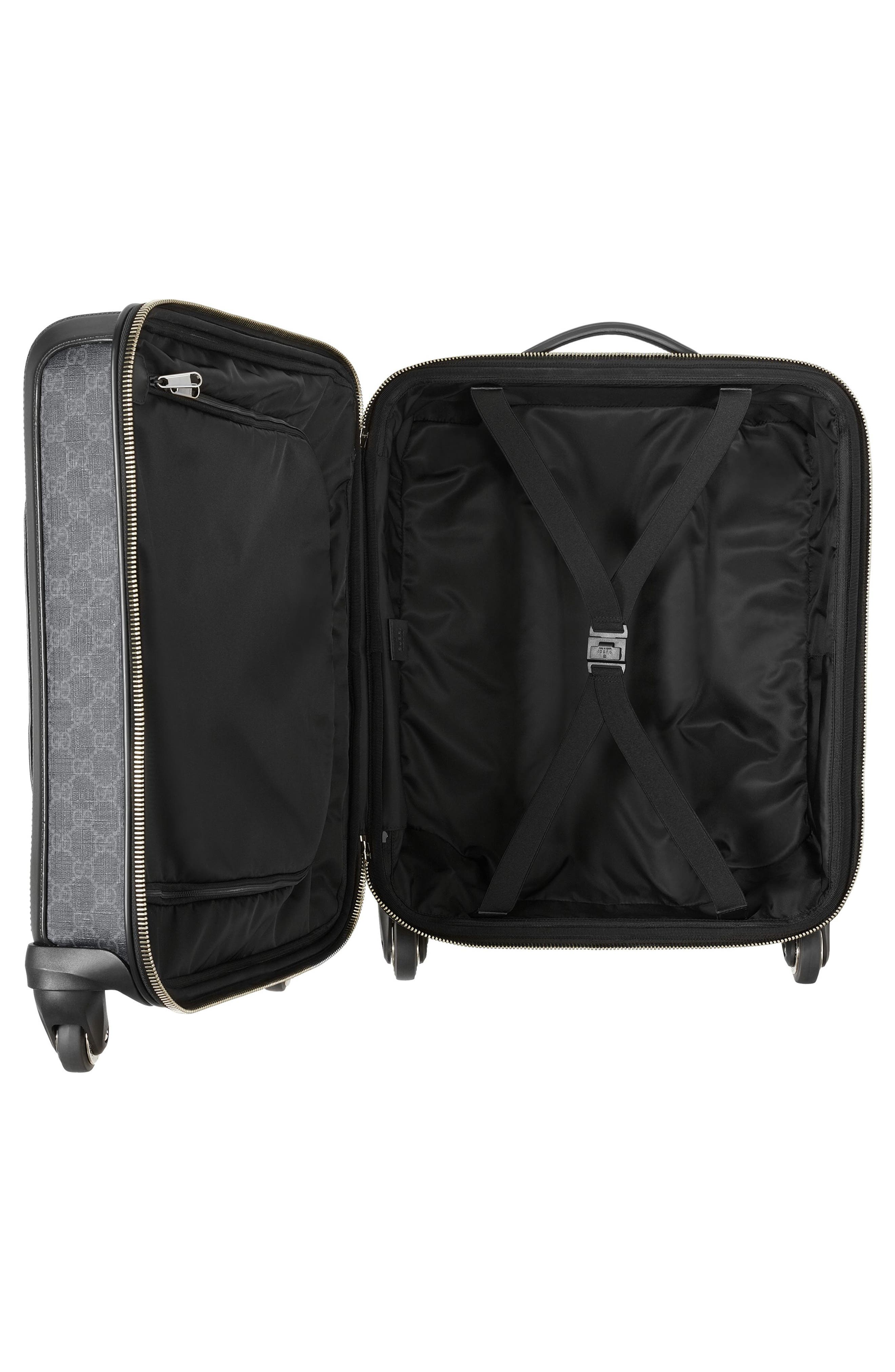 Gran Turismo Carry-On,                             Alternate thumbnail 3, color,                             Black