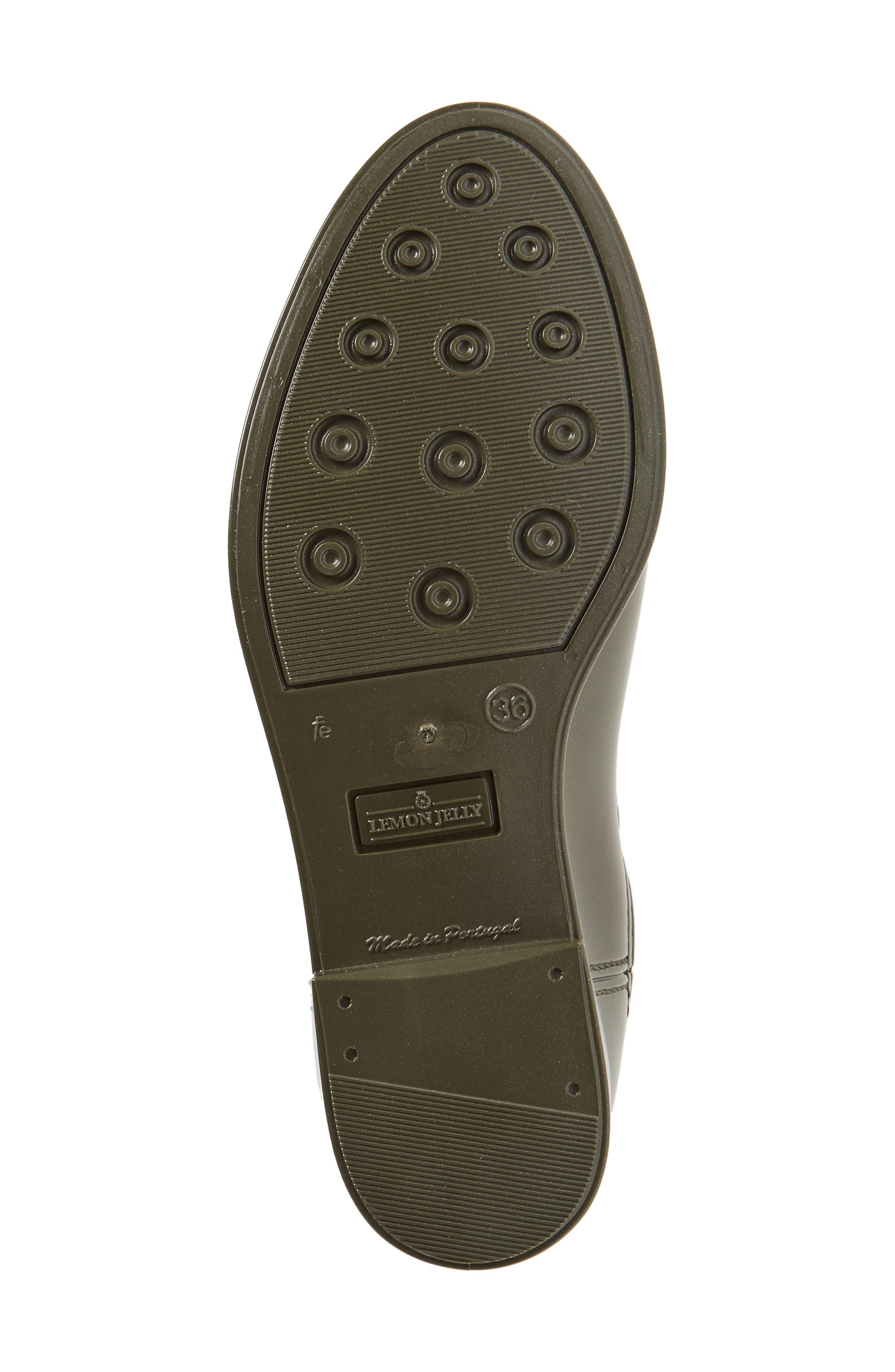 Comfy Waterproof Chelsea Boot,                             Alternate thumbnail 6, color,                             Metal Green Gloss