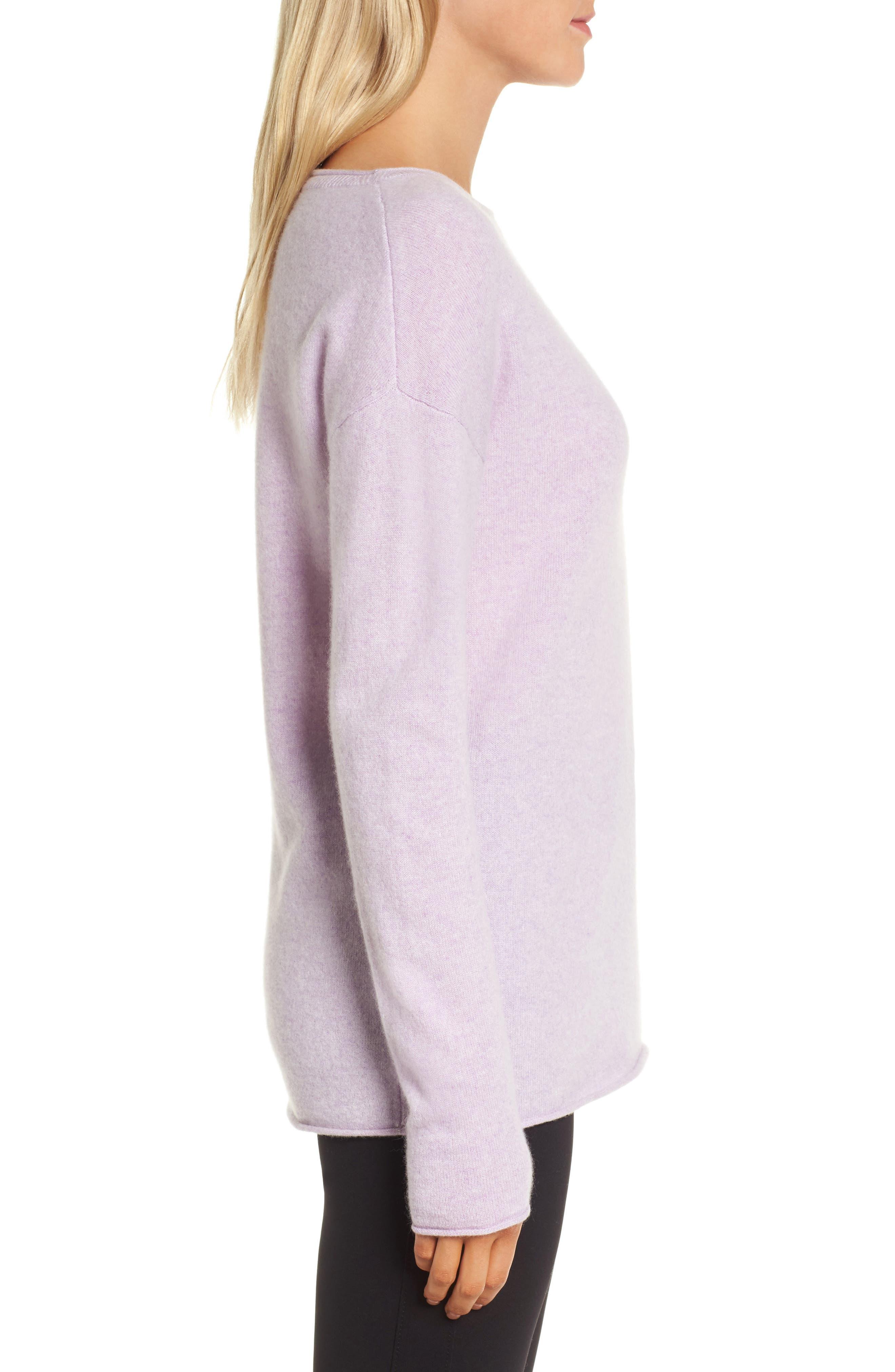 Alternate Image 3  - Nordstrom Signature Boiled Cashmere Sweater
