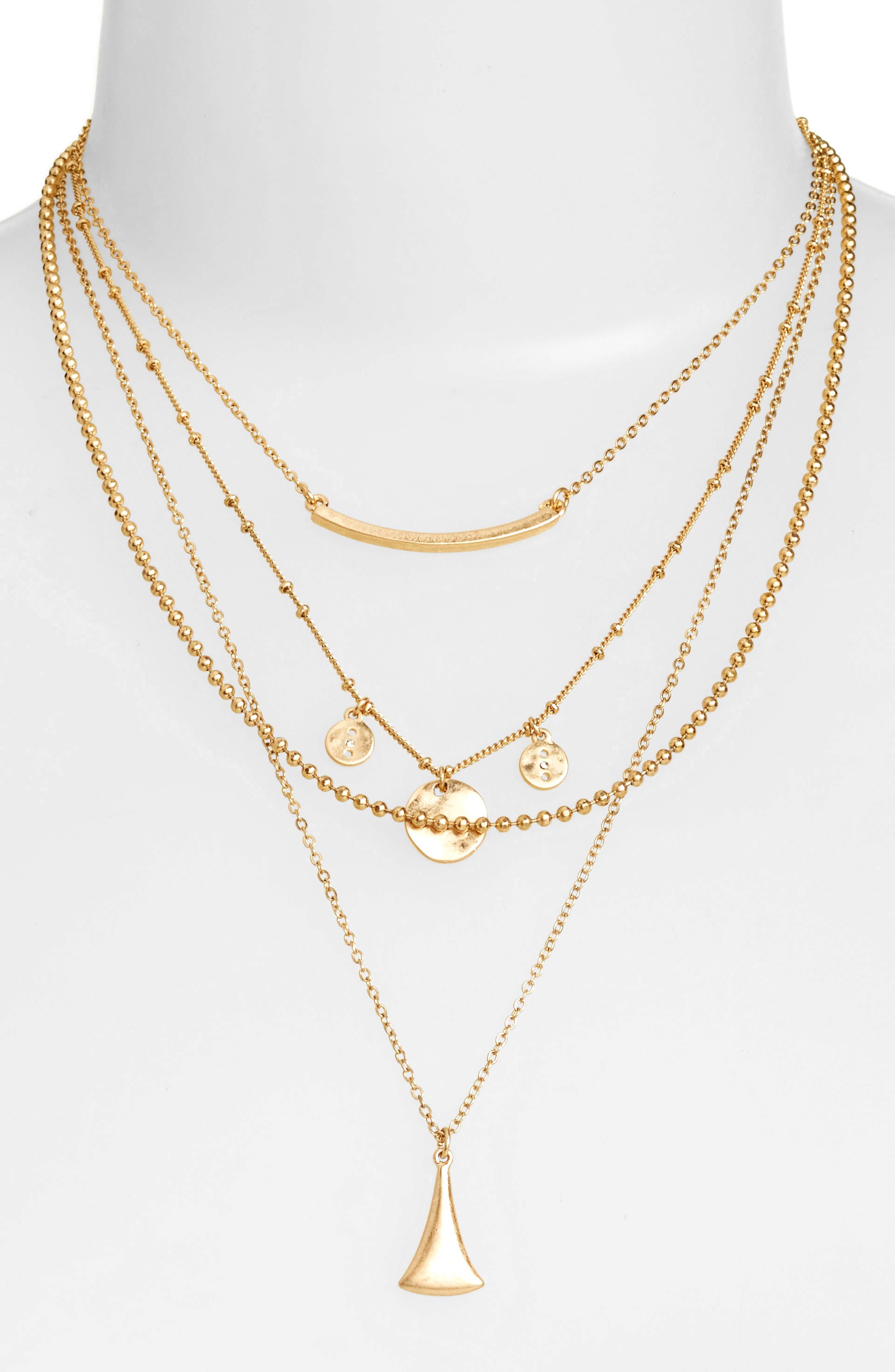 Main Image - Treasure & Bond Multistrand Necklace