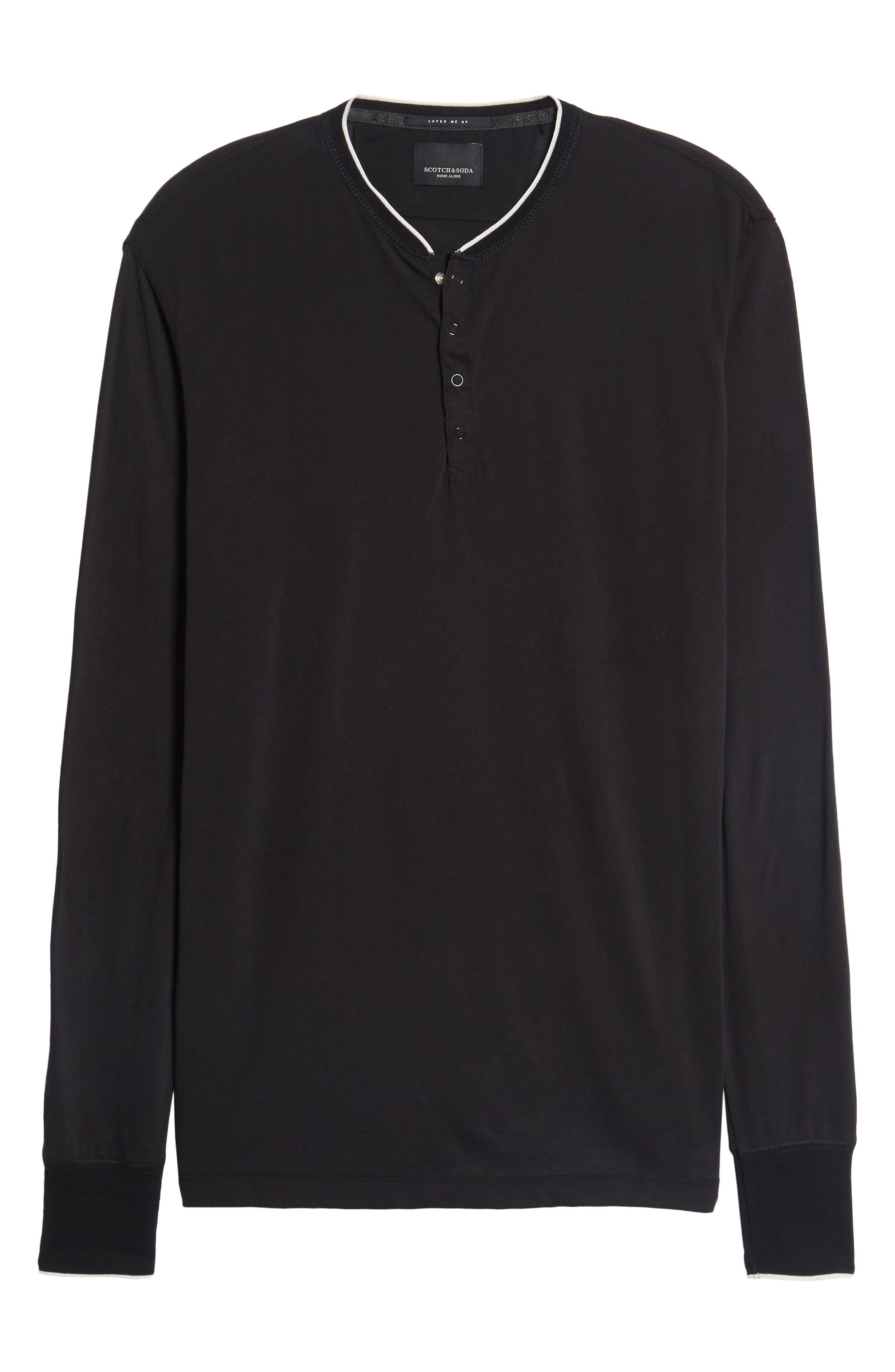 Alternate Image 6  - Scotch & Soda Club Nomade Soft Granddad T-Shirt