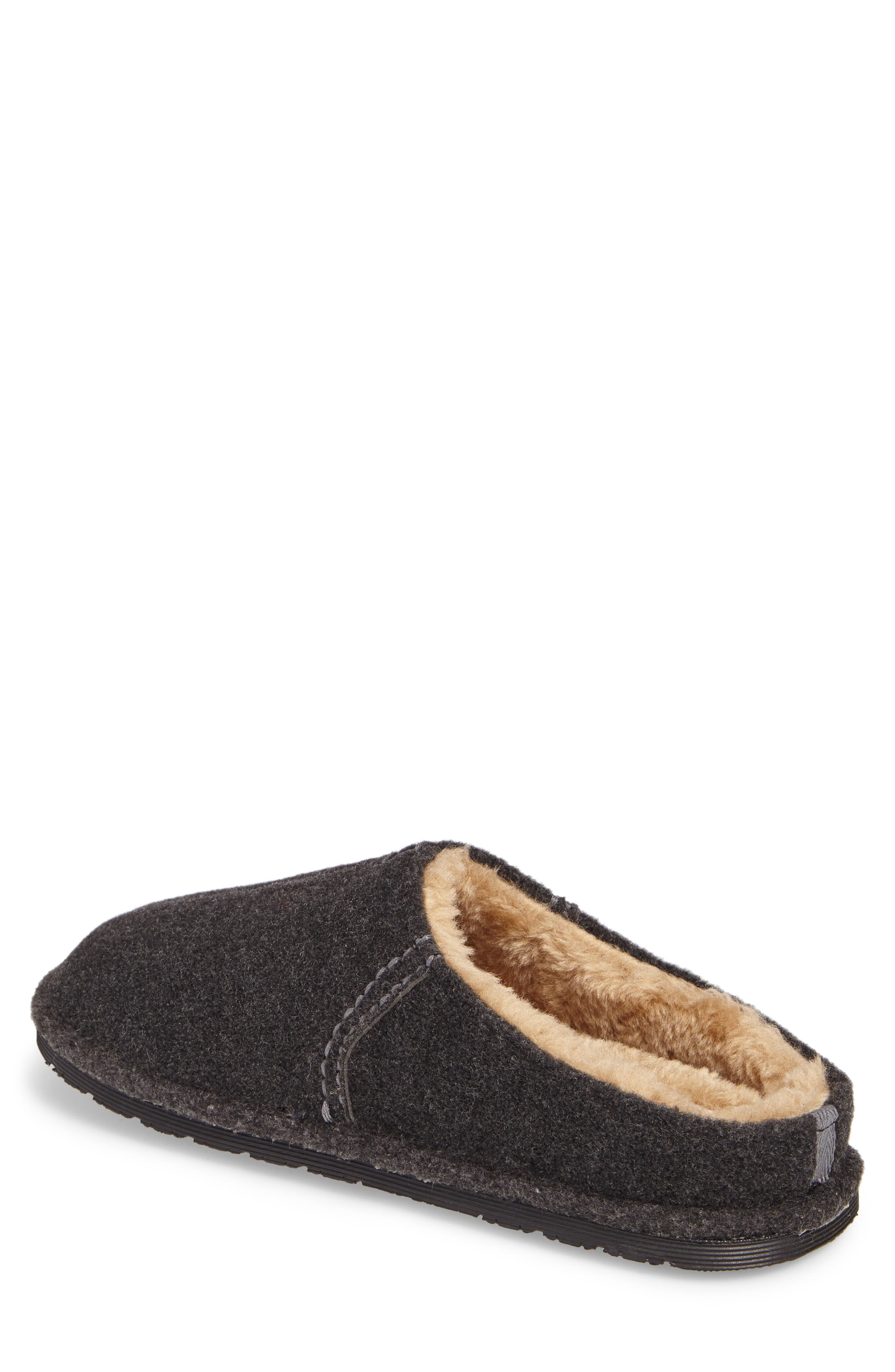 Timber Scuff Slipper,                             Alternate thumbnail 2, color,                             Charcoal Felt/ Polyester