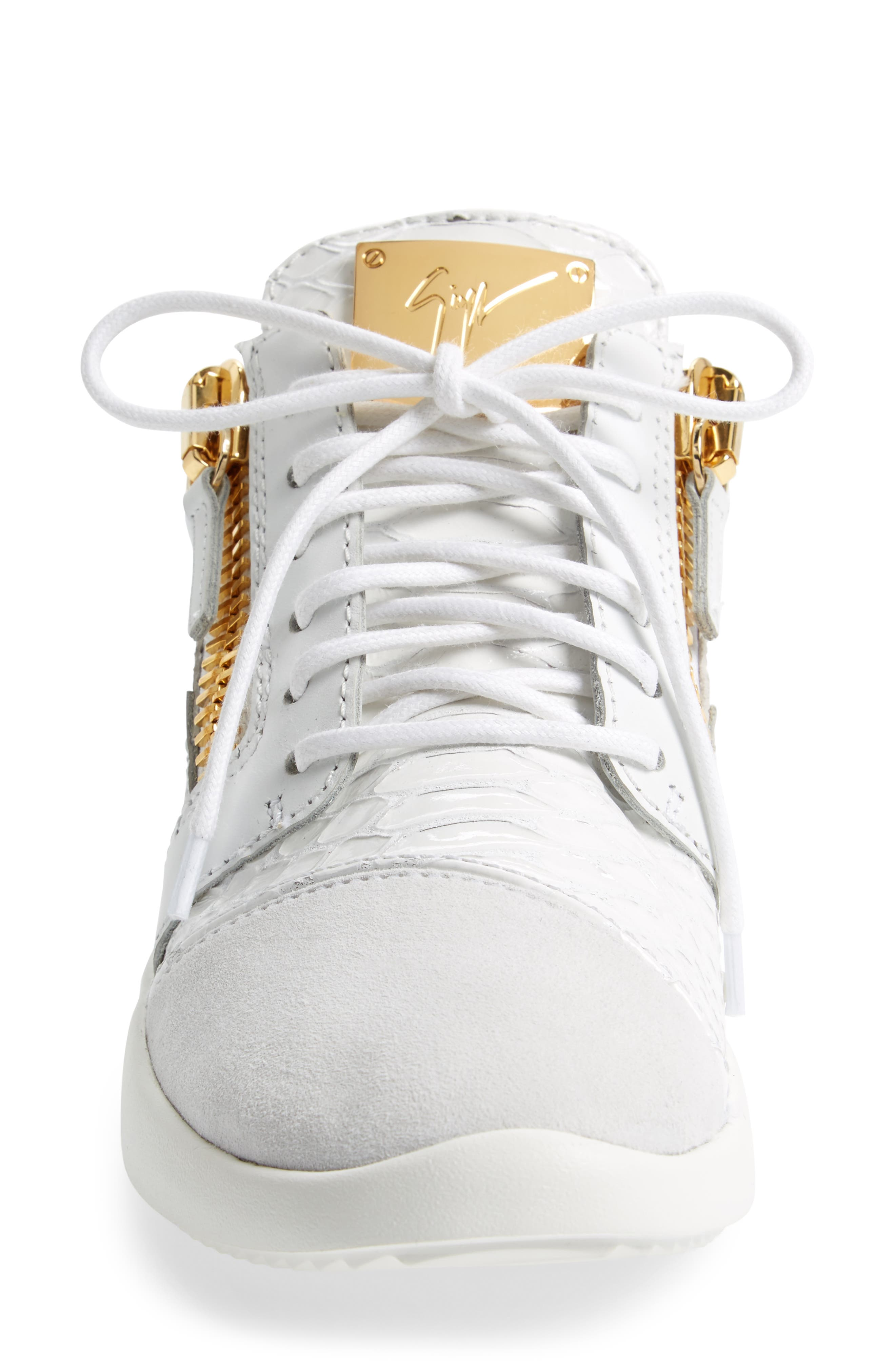Alternate Image 4  - Giuseppe Zanotti Low Top Sneaker (Women)