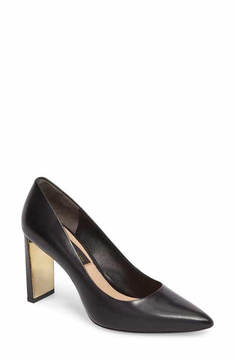 Donna Karan Criss Pointy Toe Pump (Women)