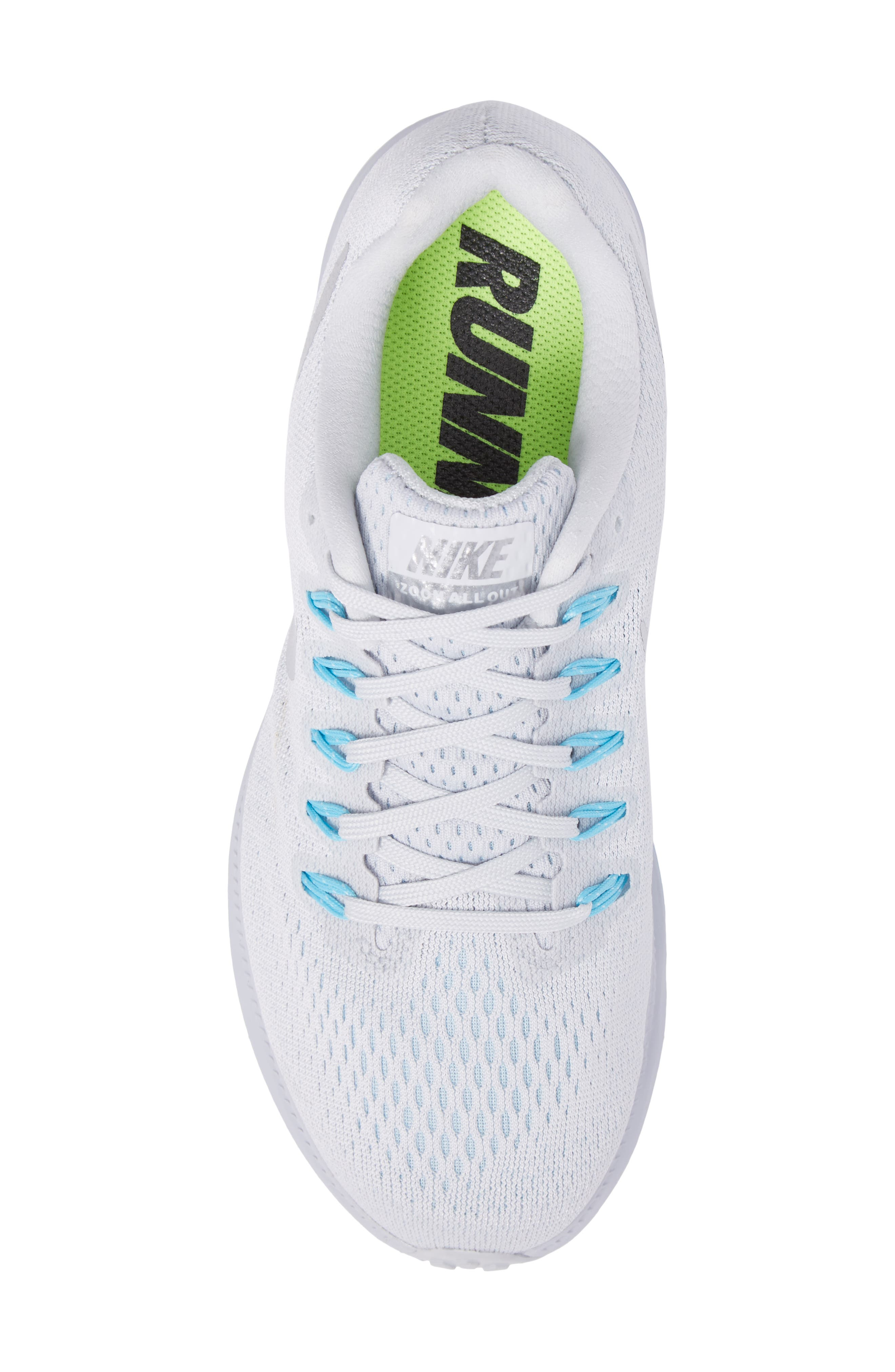Alternate Image 5  - Nike Air Zoom All Out Running Shoe (Women)
