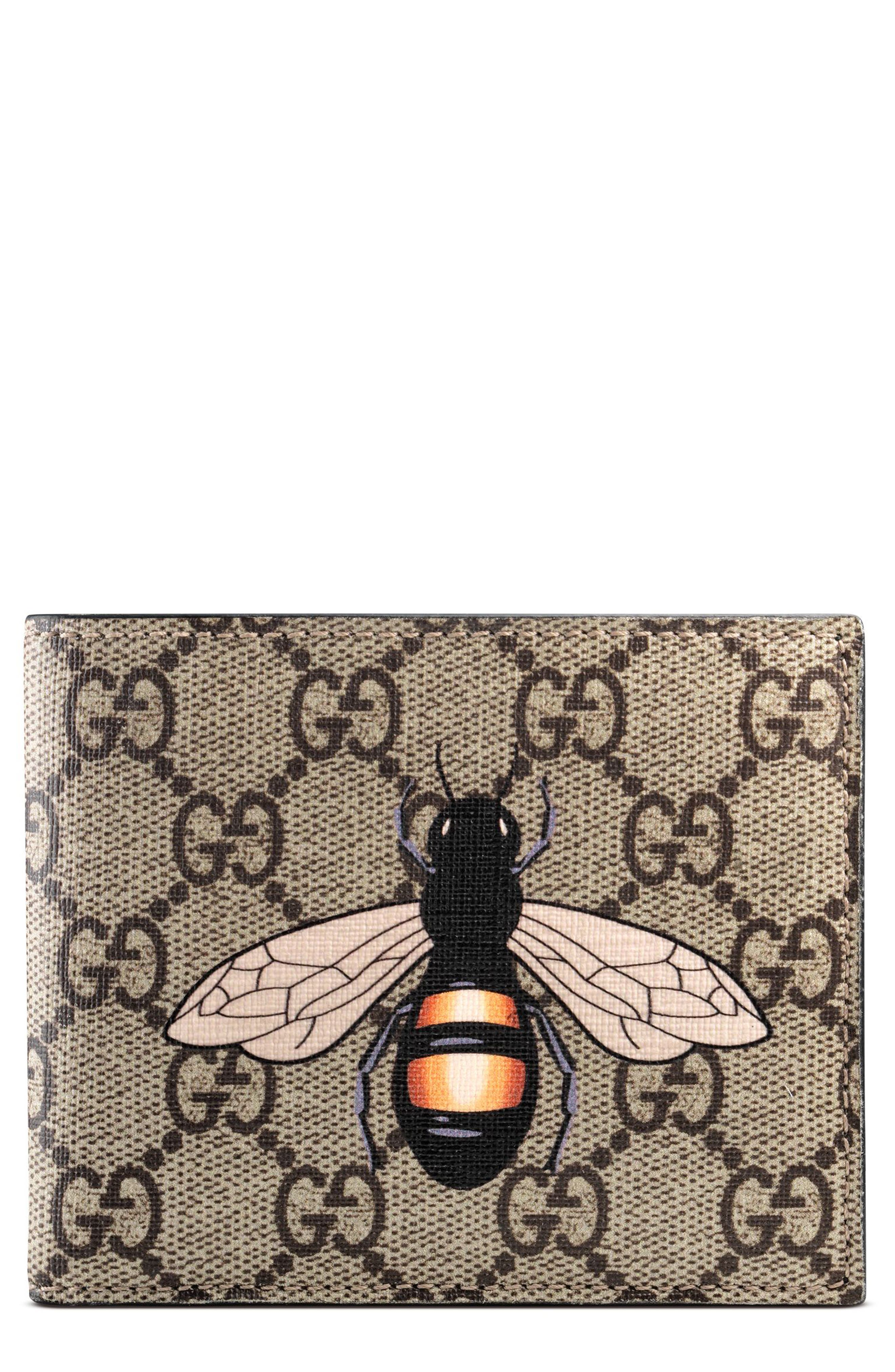 Gucci Bee GG Wallet