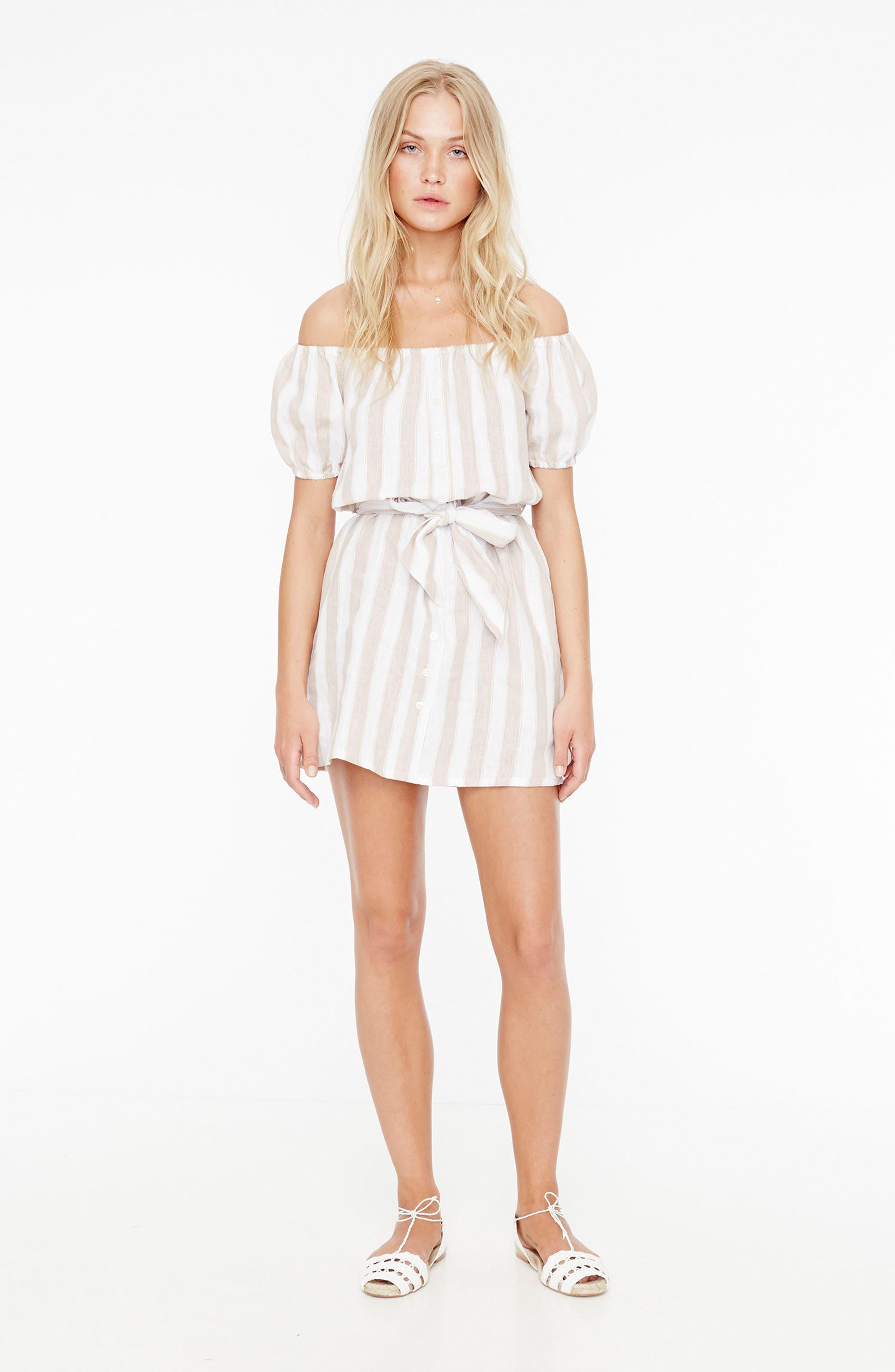 Alternate Image 6  - FAITHFULL THE BRAND Savoy Off the Shoulder Dress