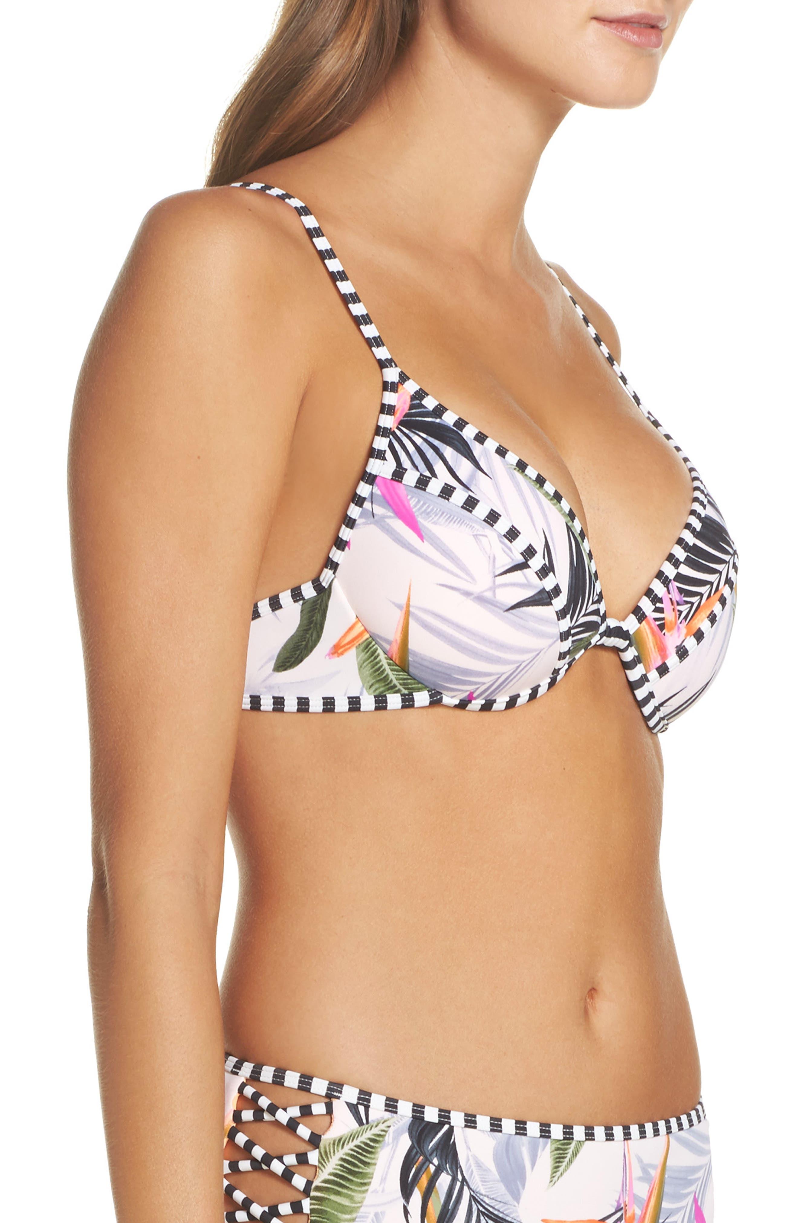 Alternate Image 3  - Body Glove Litz Greta Underwire Bikini Top