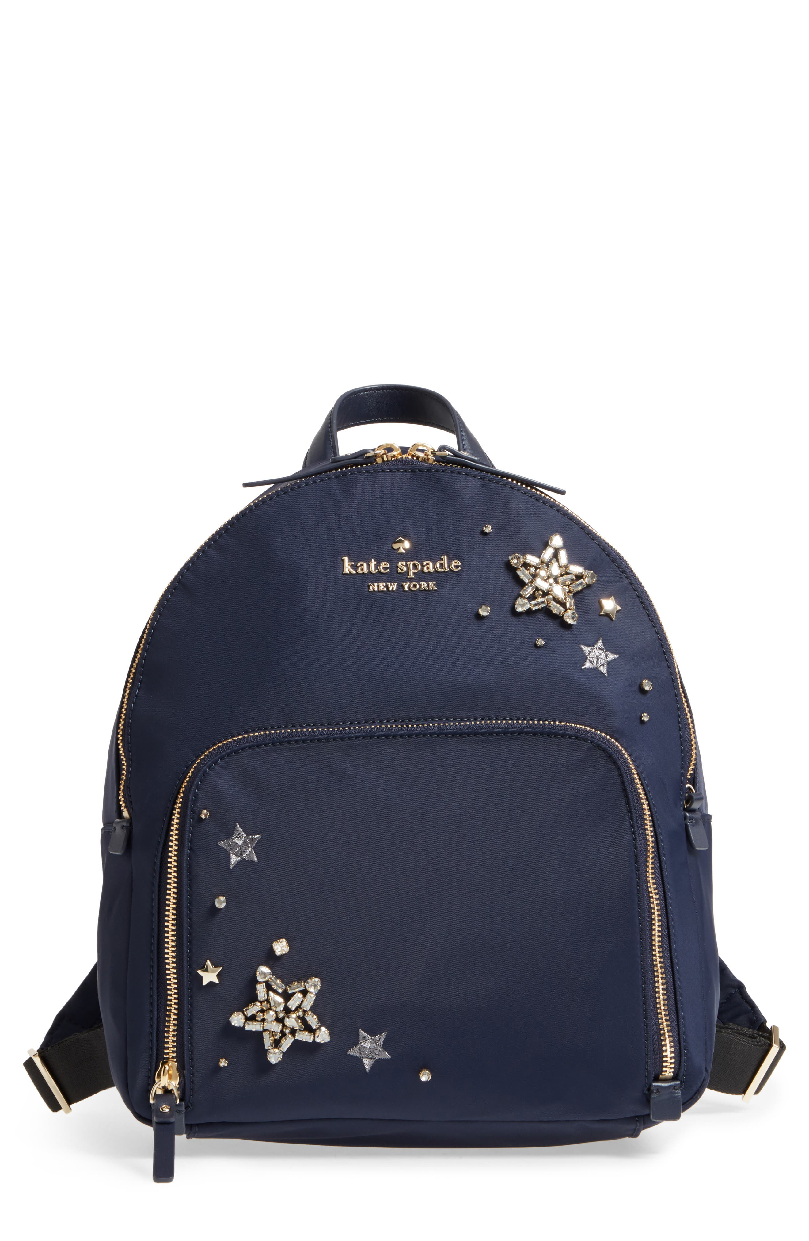watson lane - hartley embellished nylon backpack,                         Main,                         color, Rich Navy