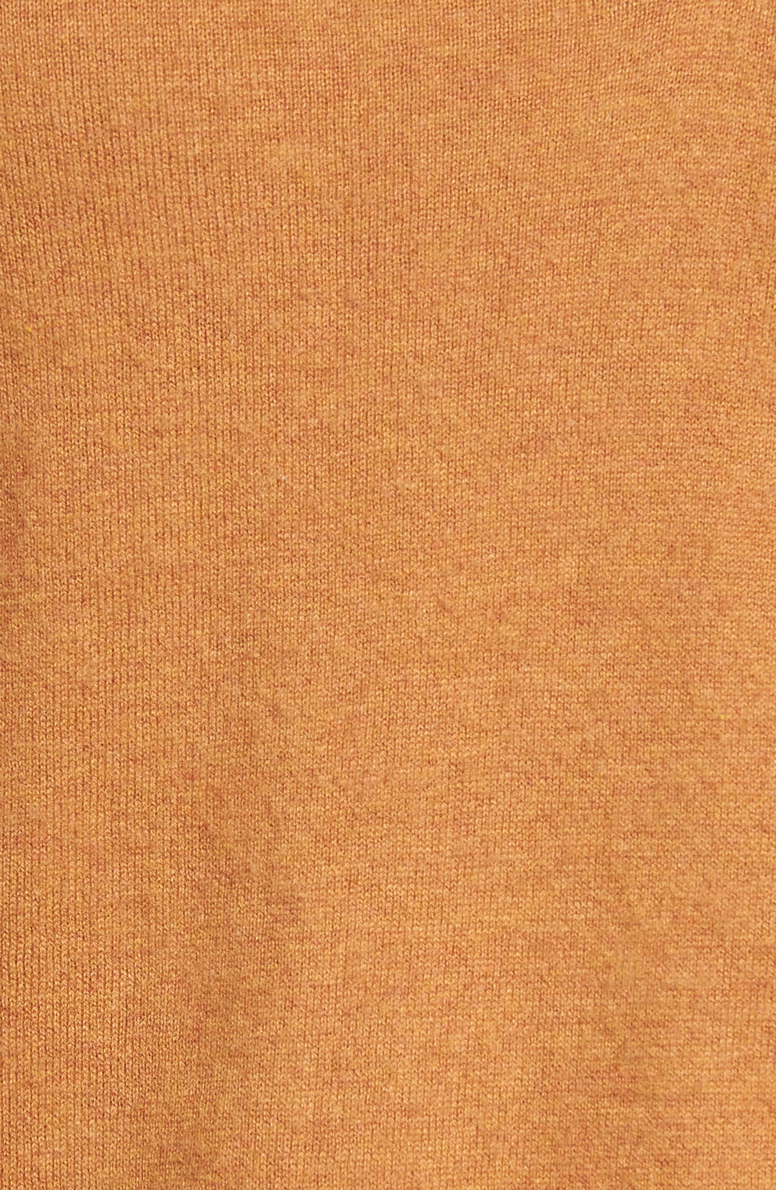 V-Neck Sweater,                             Alternate thumbnail 5, color,                             Tan Sugar Heather