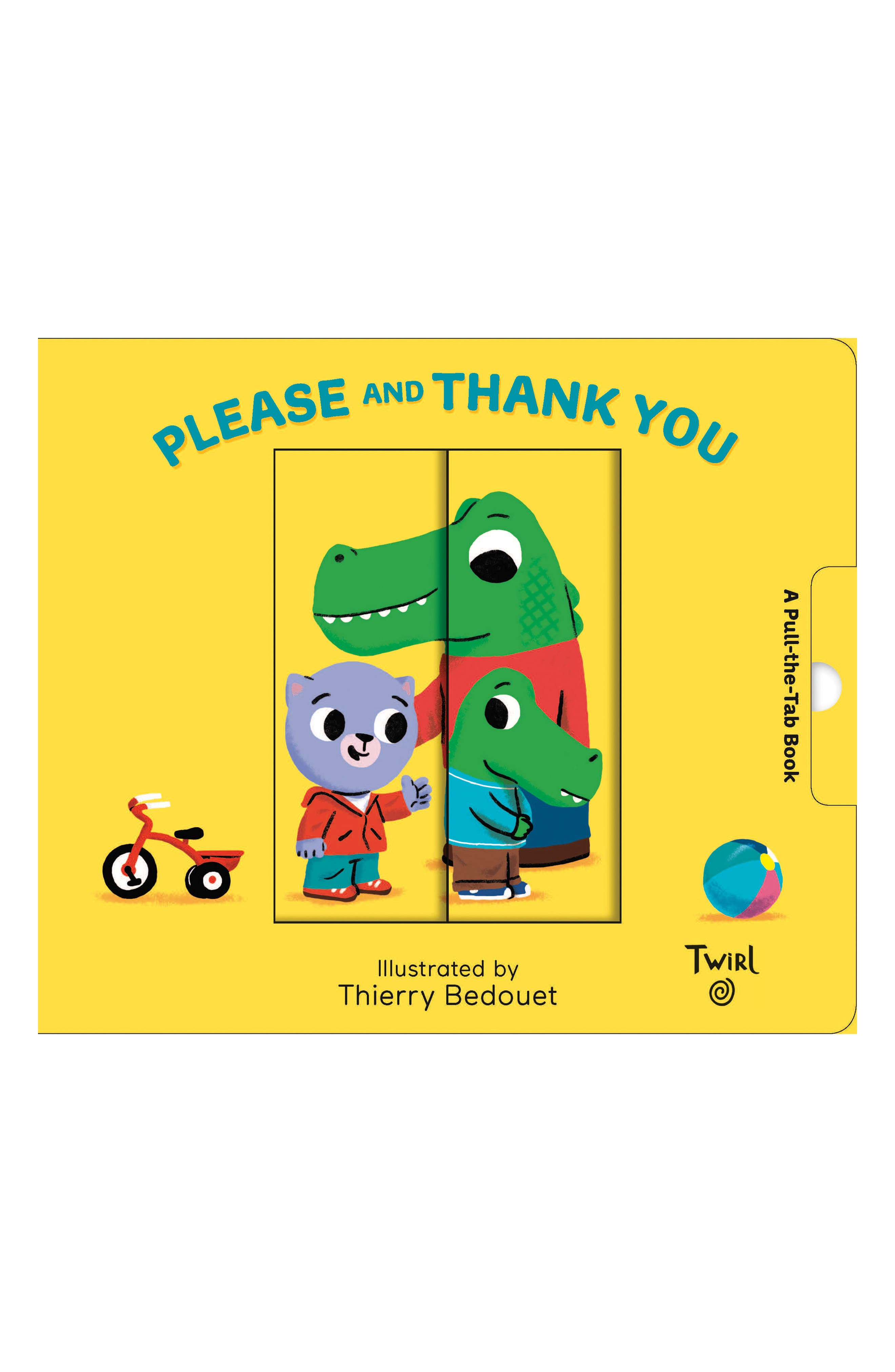 Pull and Play Books: Please and Thank You,                             Main thumbnail 1, color,                             Yellow