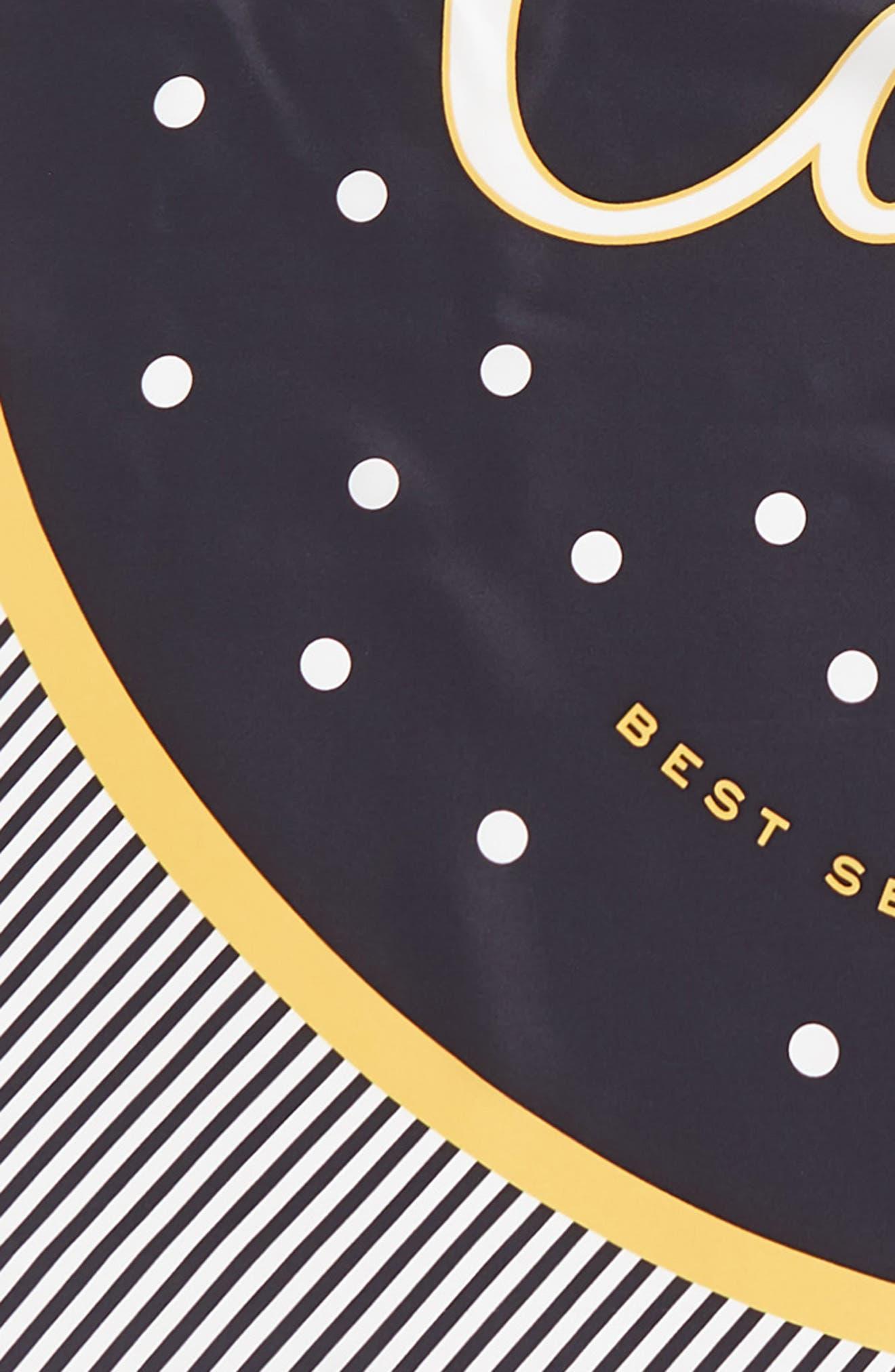 Alternate Image 4  - kate spade new york caviar silk square scarf