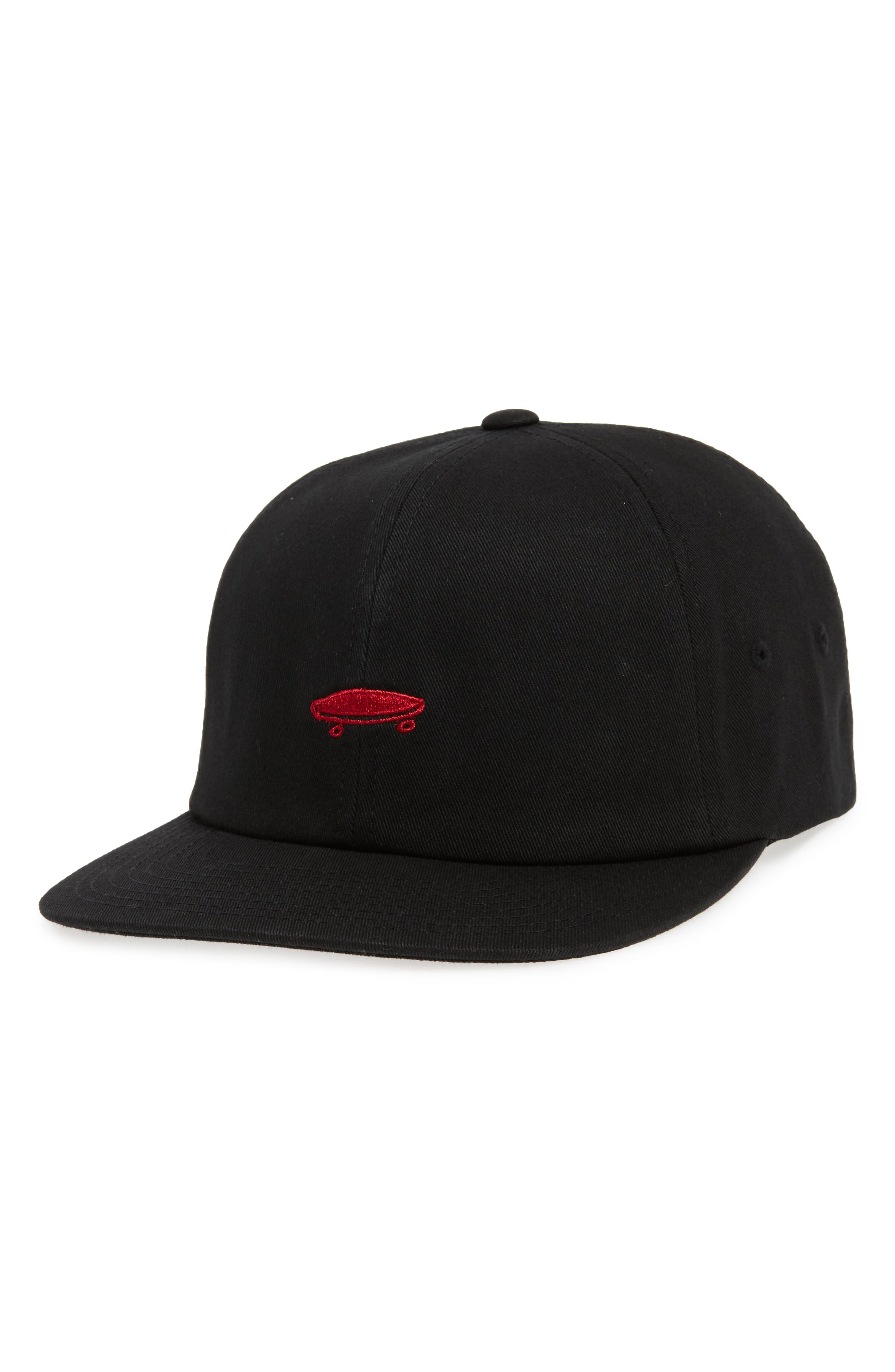 Vans SALTON II BALL CAP - BLACK
