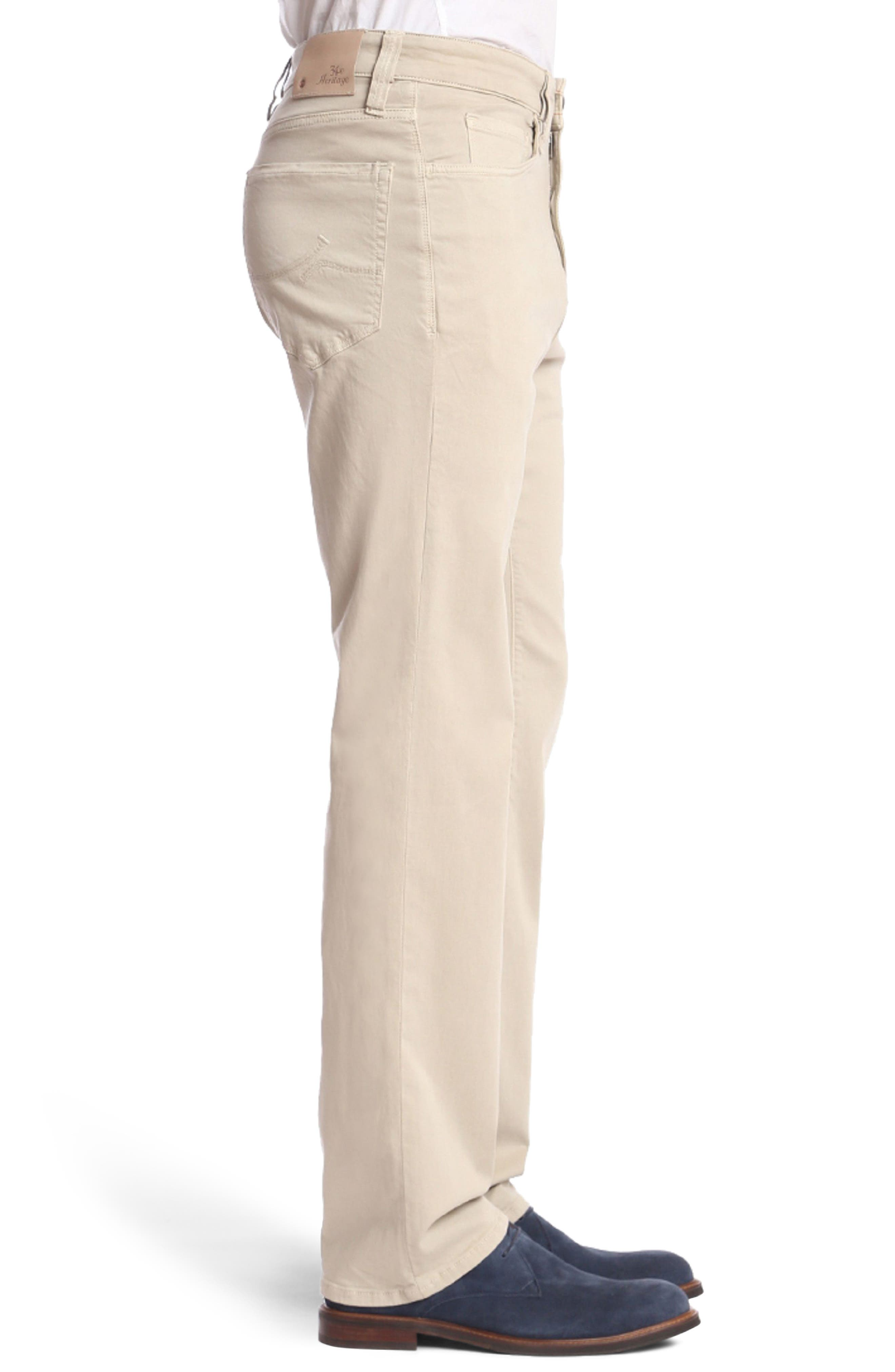 Charisma Relaxed Fit Jeans,                             Alternate thumbnail 3, color,                             Stone Twill