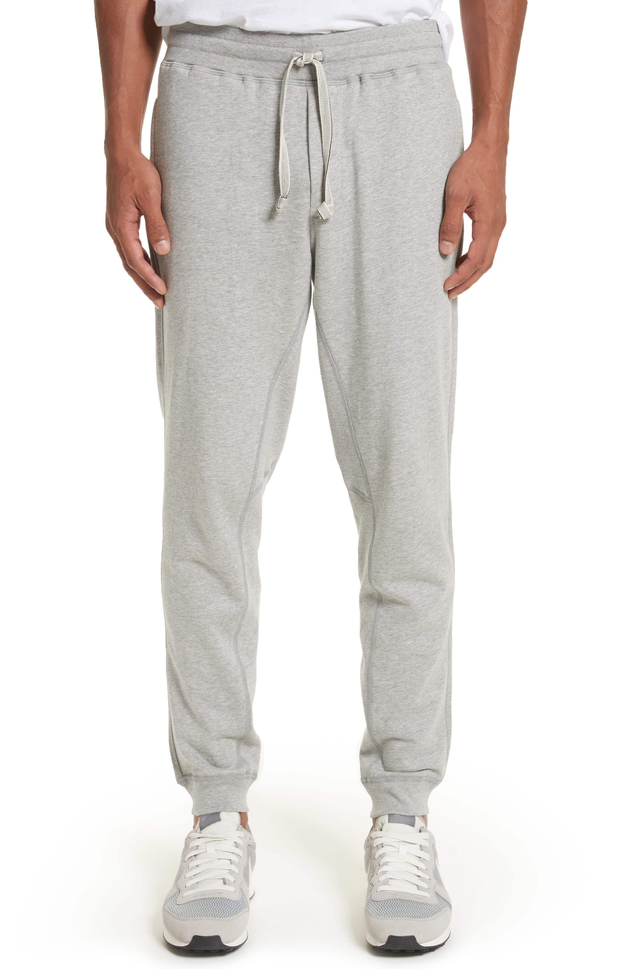 Sweatpants,                         Main,                         color, Heather Grey