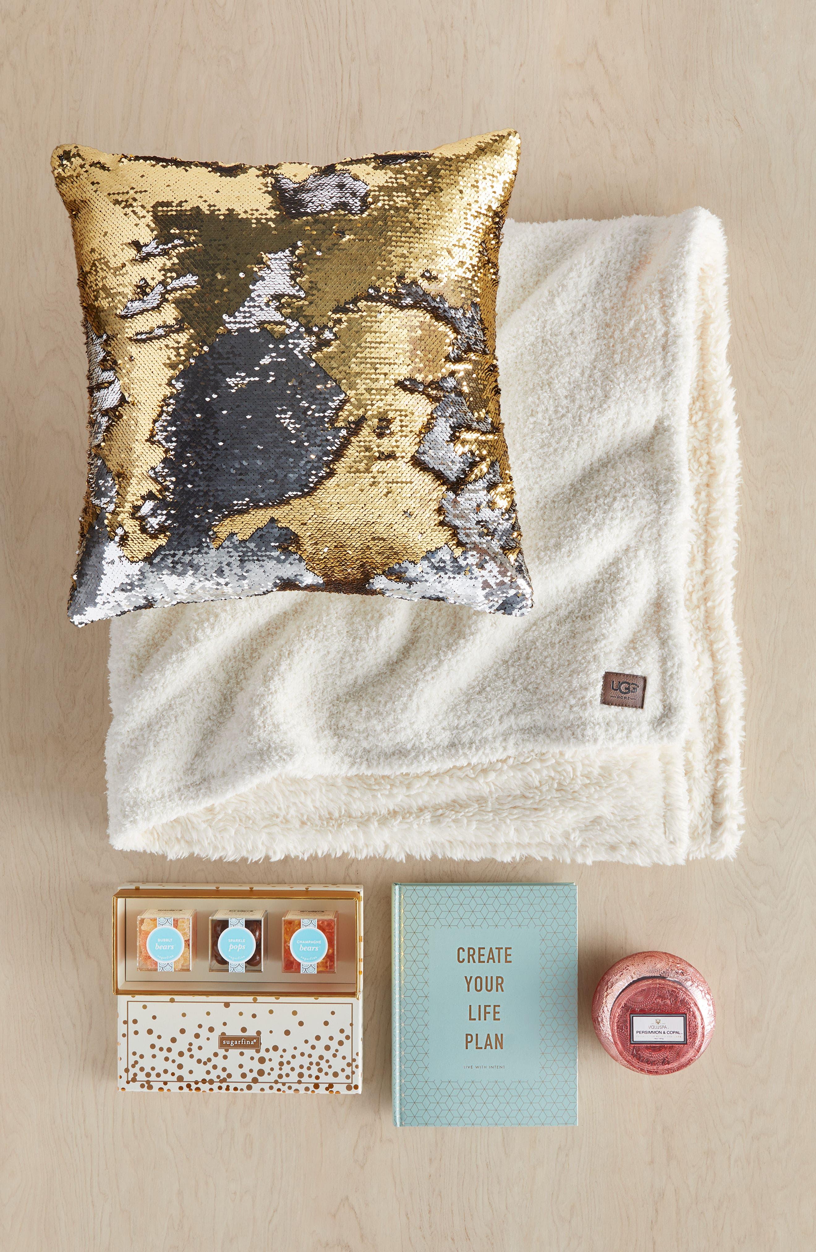 Sequin Pillow,                             Alternate thumbnail 5, color,