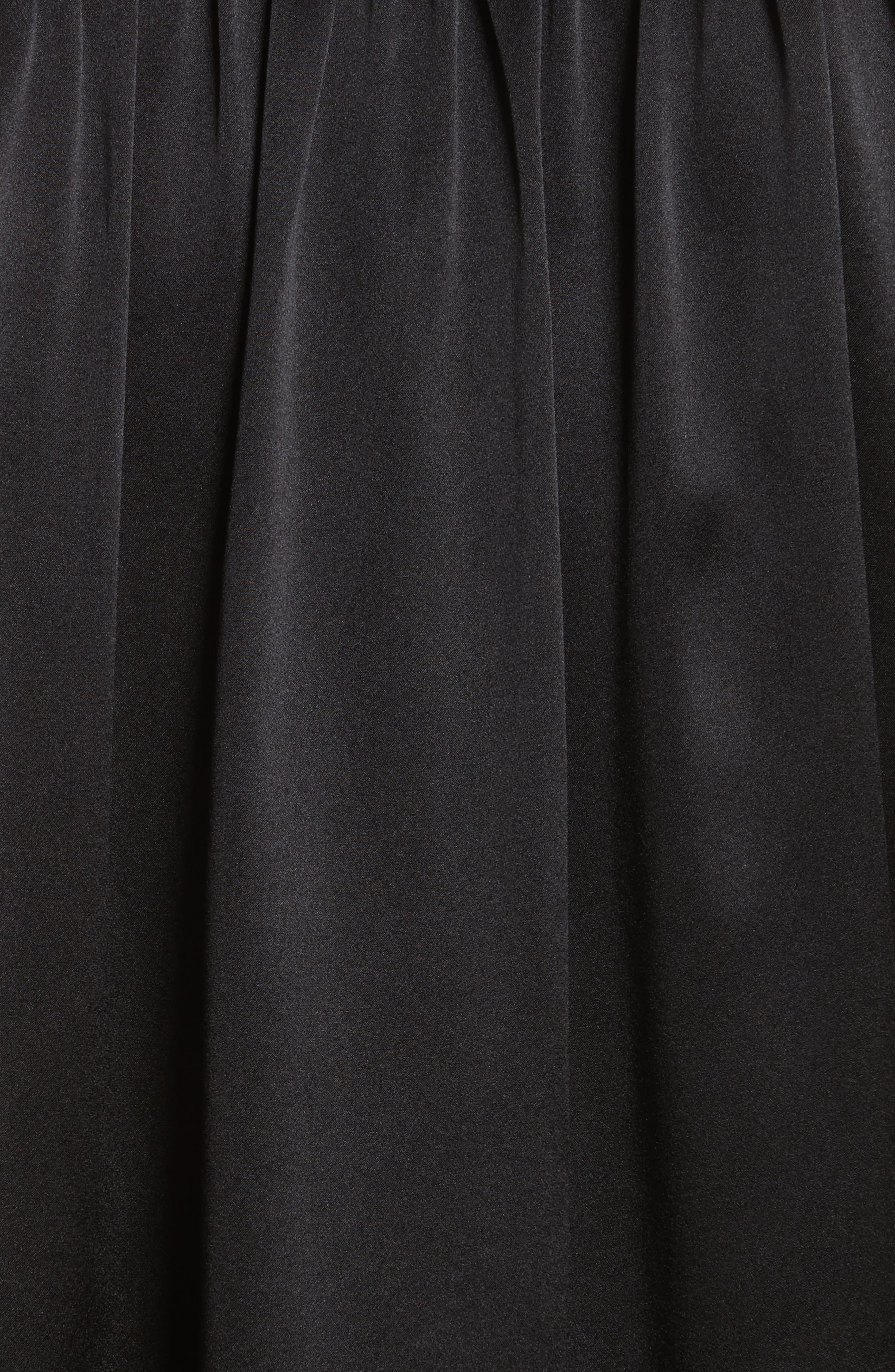 Alternate Image 5  - FRAME Flare Cuff Solid Silk Shirt