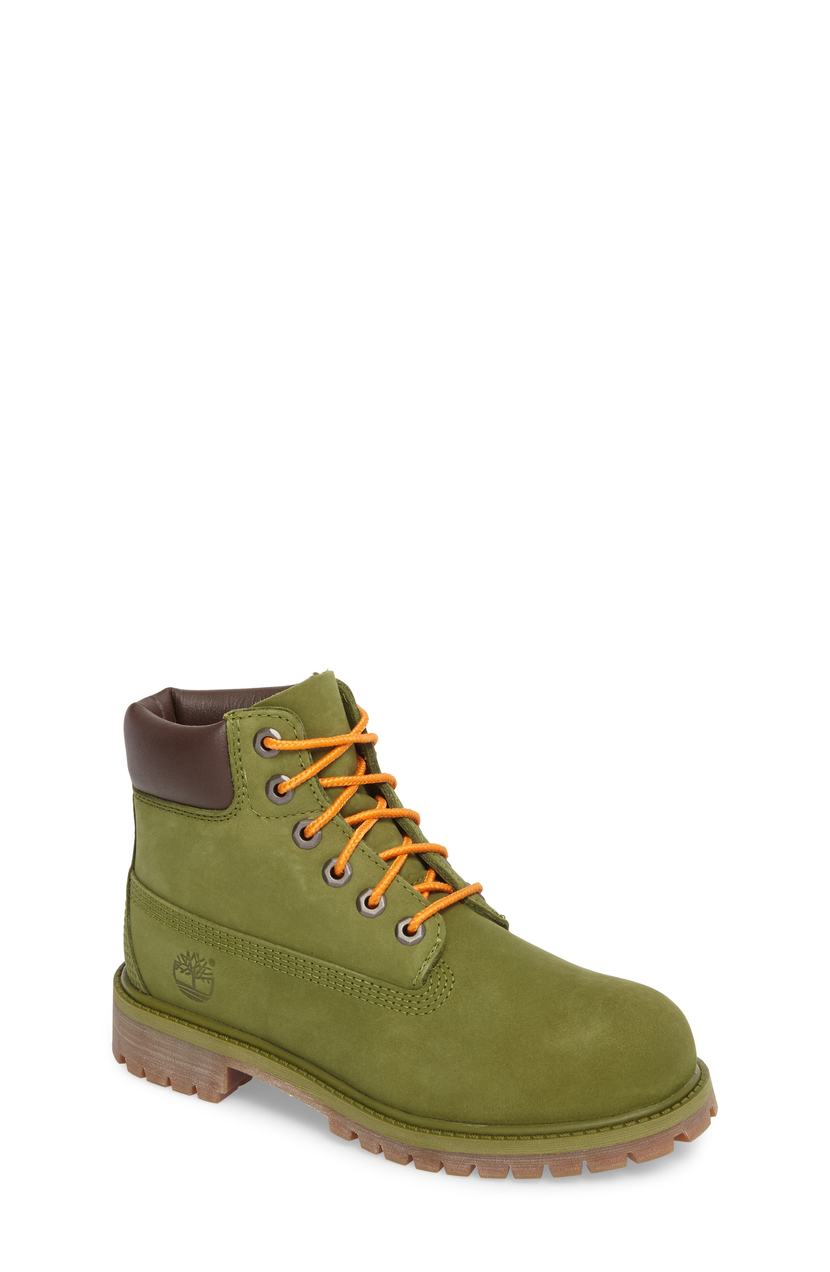 Alternate Image 1 Selected - Timberland 6-Inch Premium Waterproof Boot (Walker, Toddler, Little Kid & Big Kid)